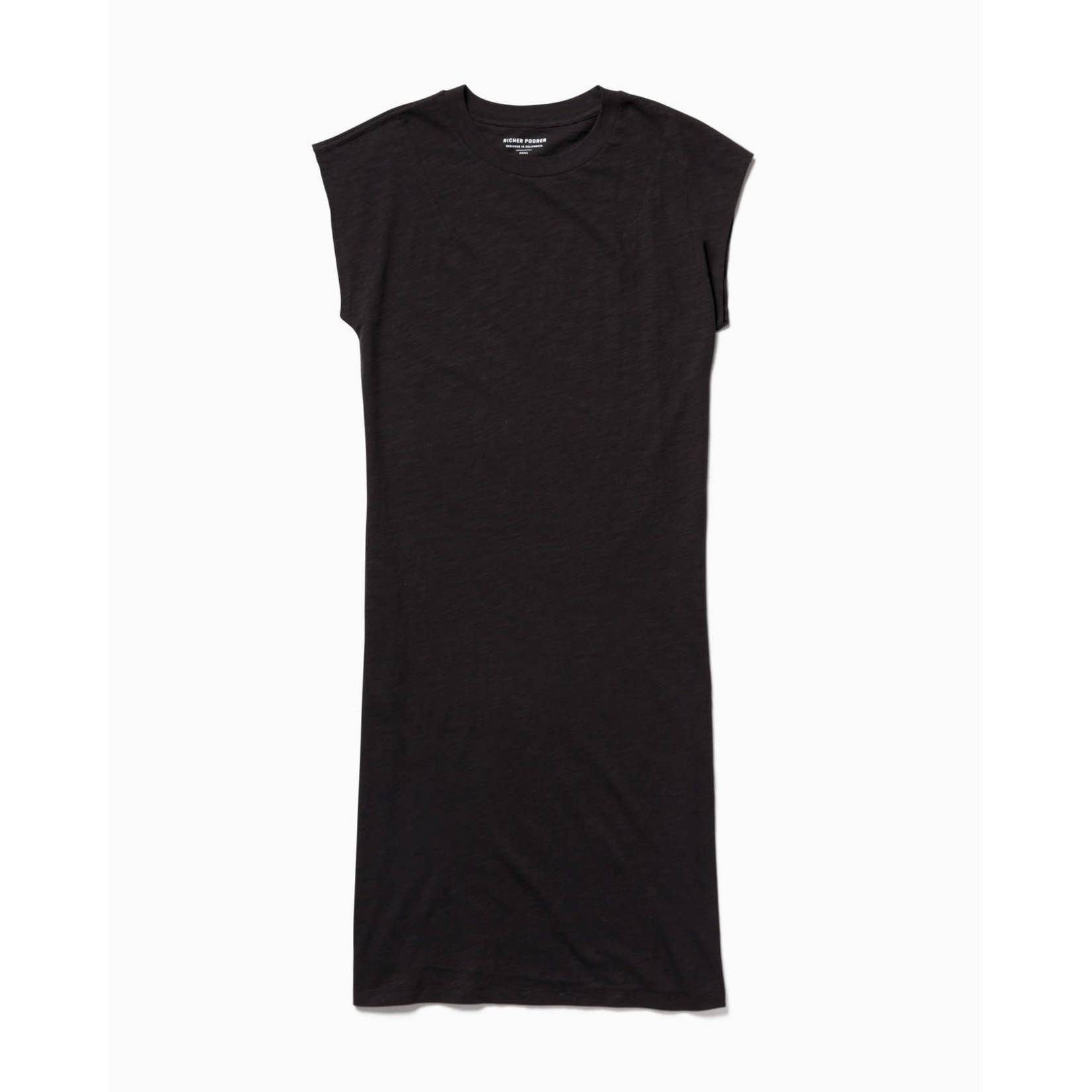 Richer Poorer Robe EASY DRESS - noir / xs