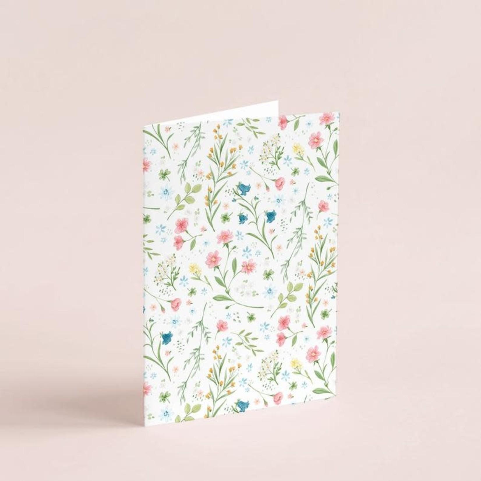 Joannie Houle Art Carte Petites fleurs