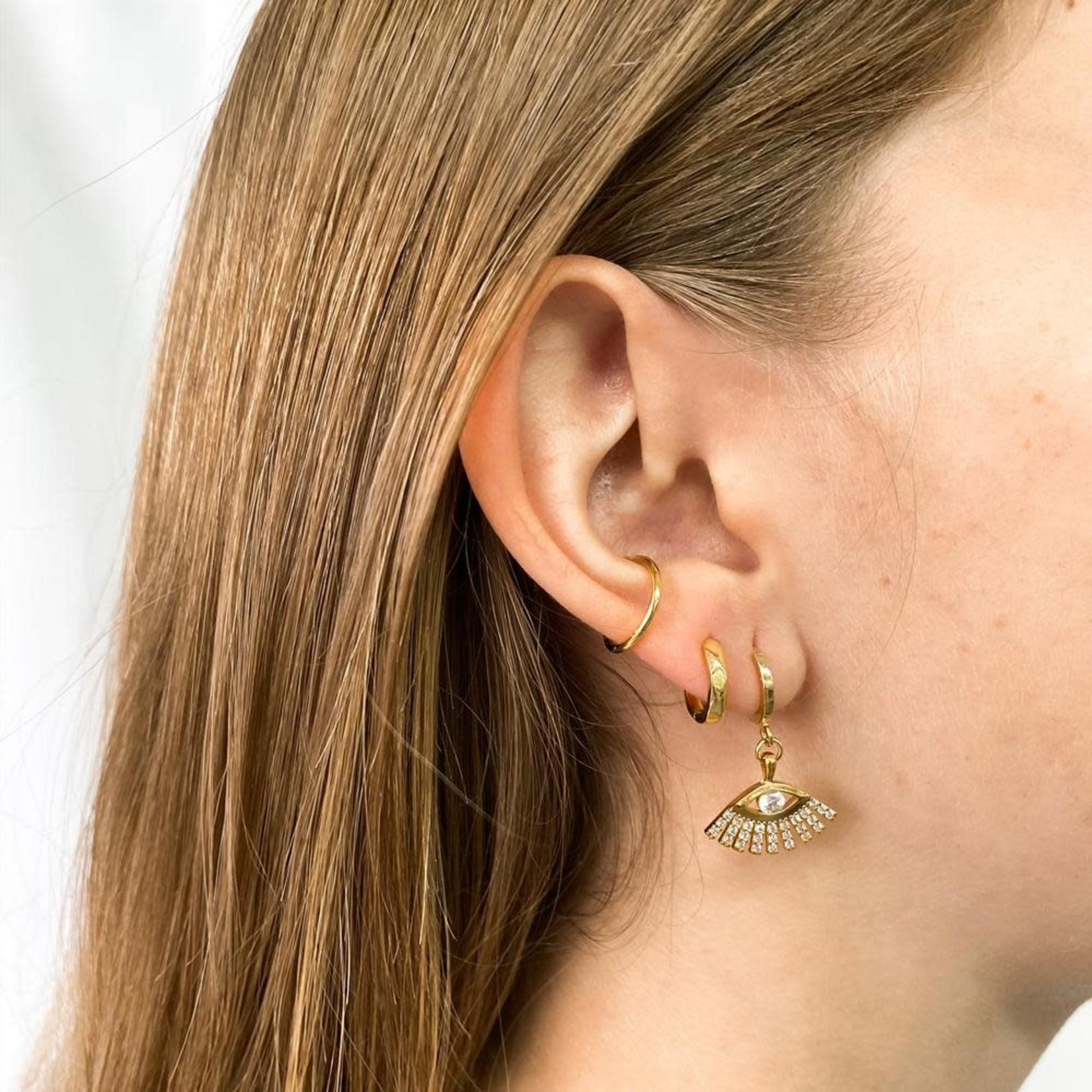 Horace Jewelry Horace fausse boucle d'oreille BASIC OR