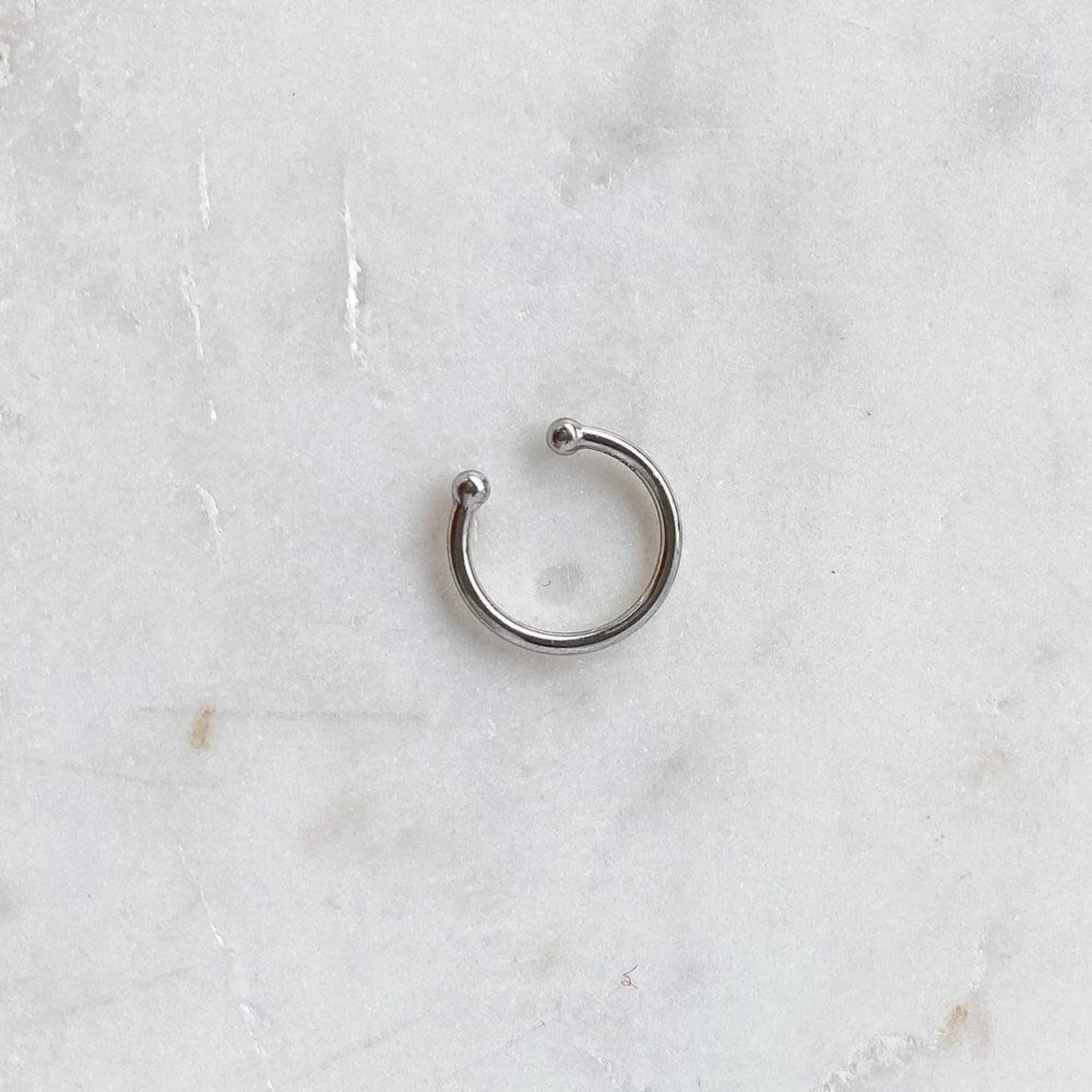 Horace Jewelry Horace fausse boucle d'oreille BASIC ARGENT