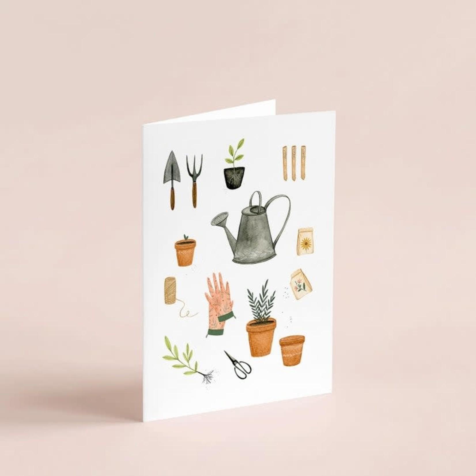 Joannie Houle Carte Jardinage