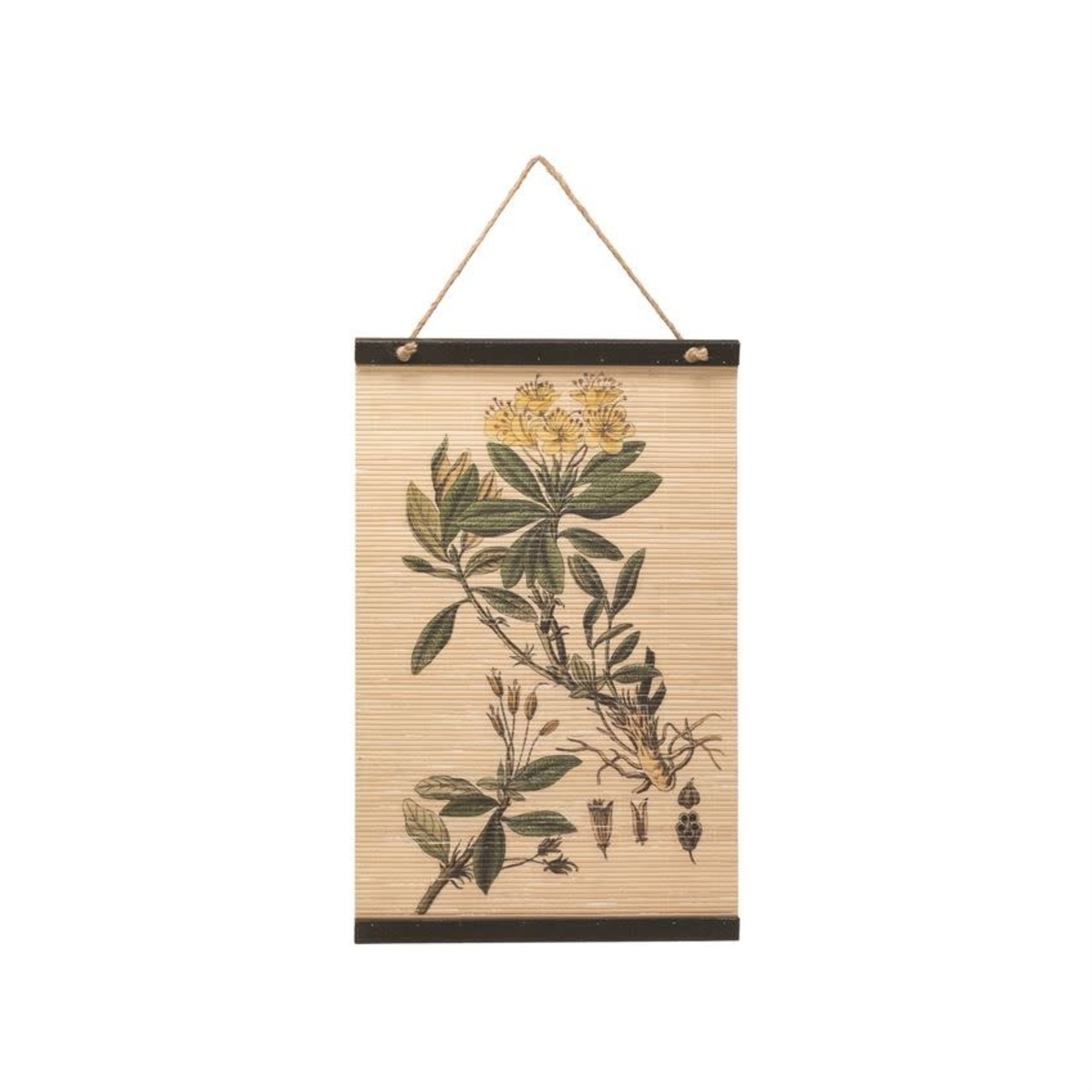 Bloomingville Affiche bambou