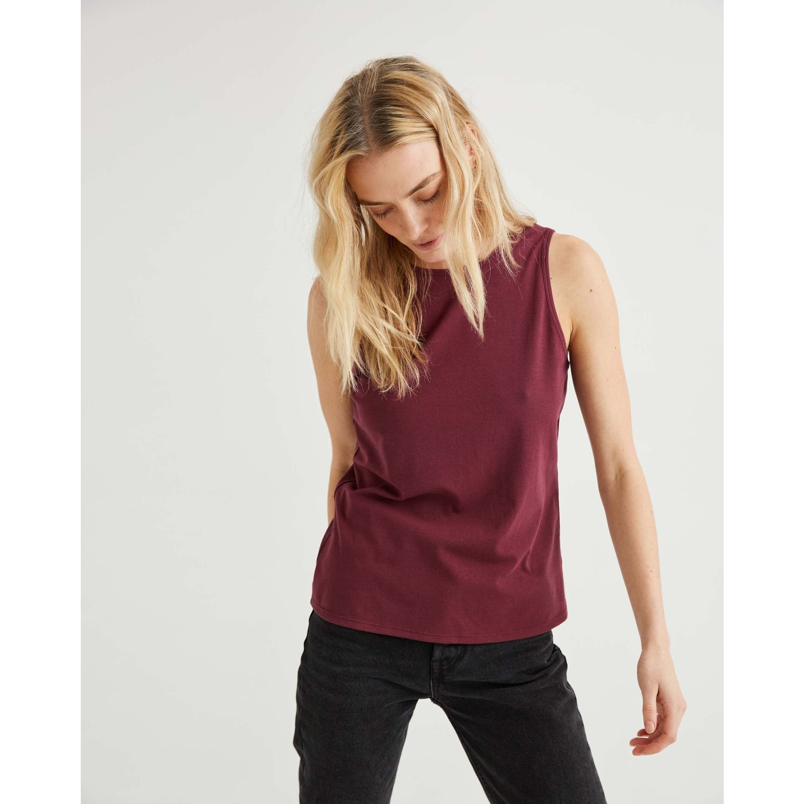 Richer Poorer Backless camisole figue