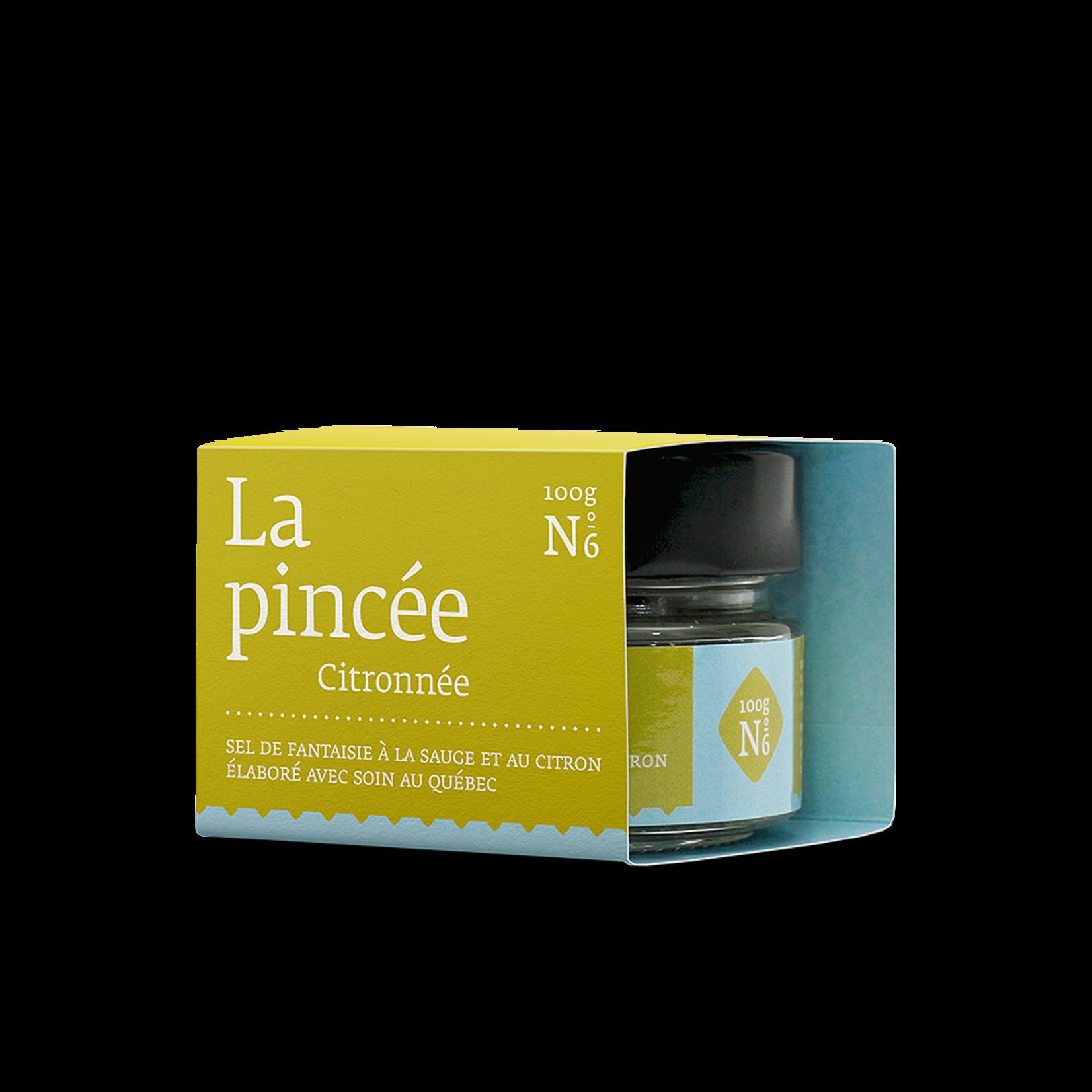 La pincée LA PINCÉE citronnée no6