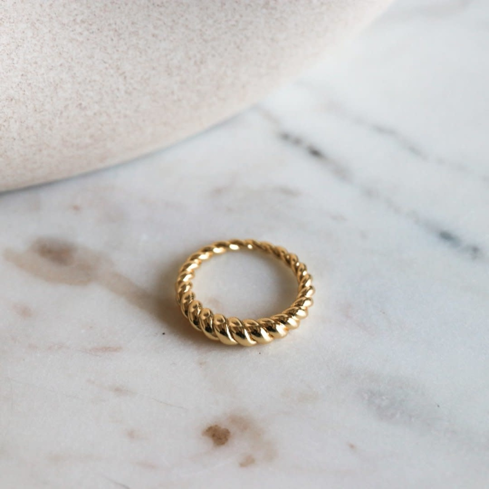 Horace Jewelry Horace bague CRESSENTO or