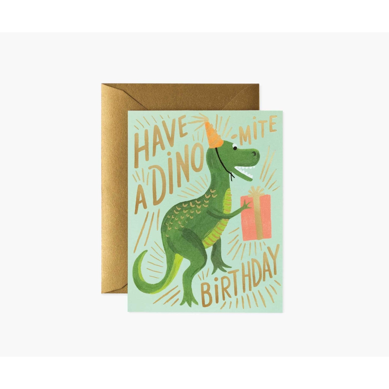 Rifle Paper Co. Carte dinosaure
