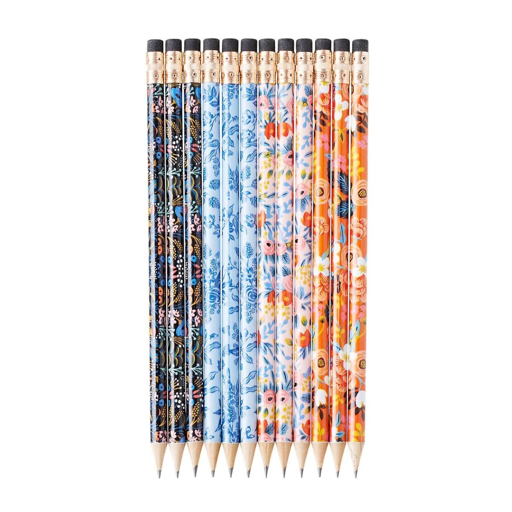 Rifle Paper co. Ensemble de crayons - garden party
