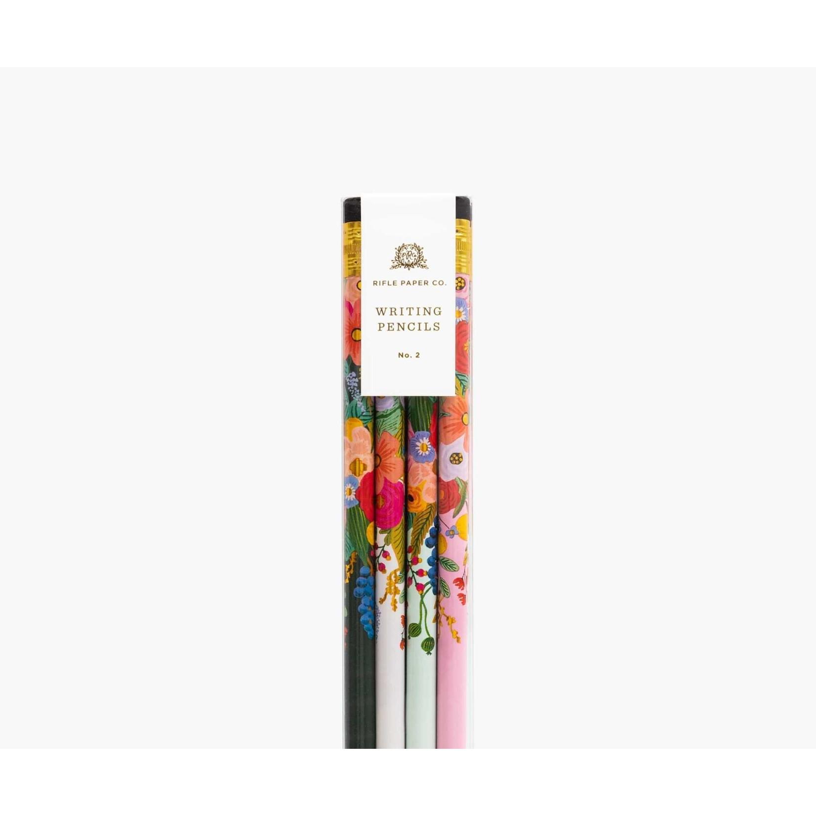 Rifle Paper co. Ensemble de crayons - floral