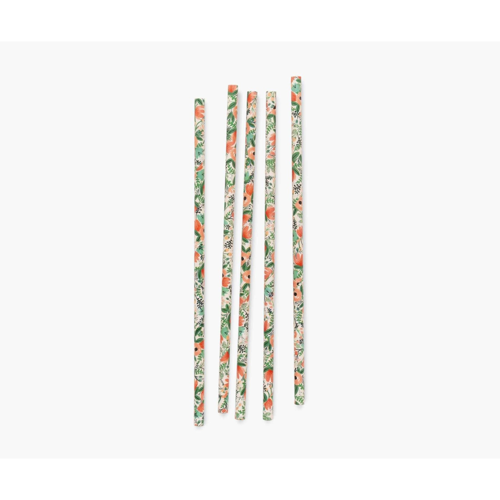 Rifle Paper Co. Pailles en papier fleurs sauvages