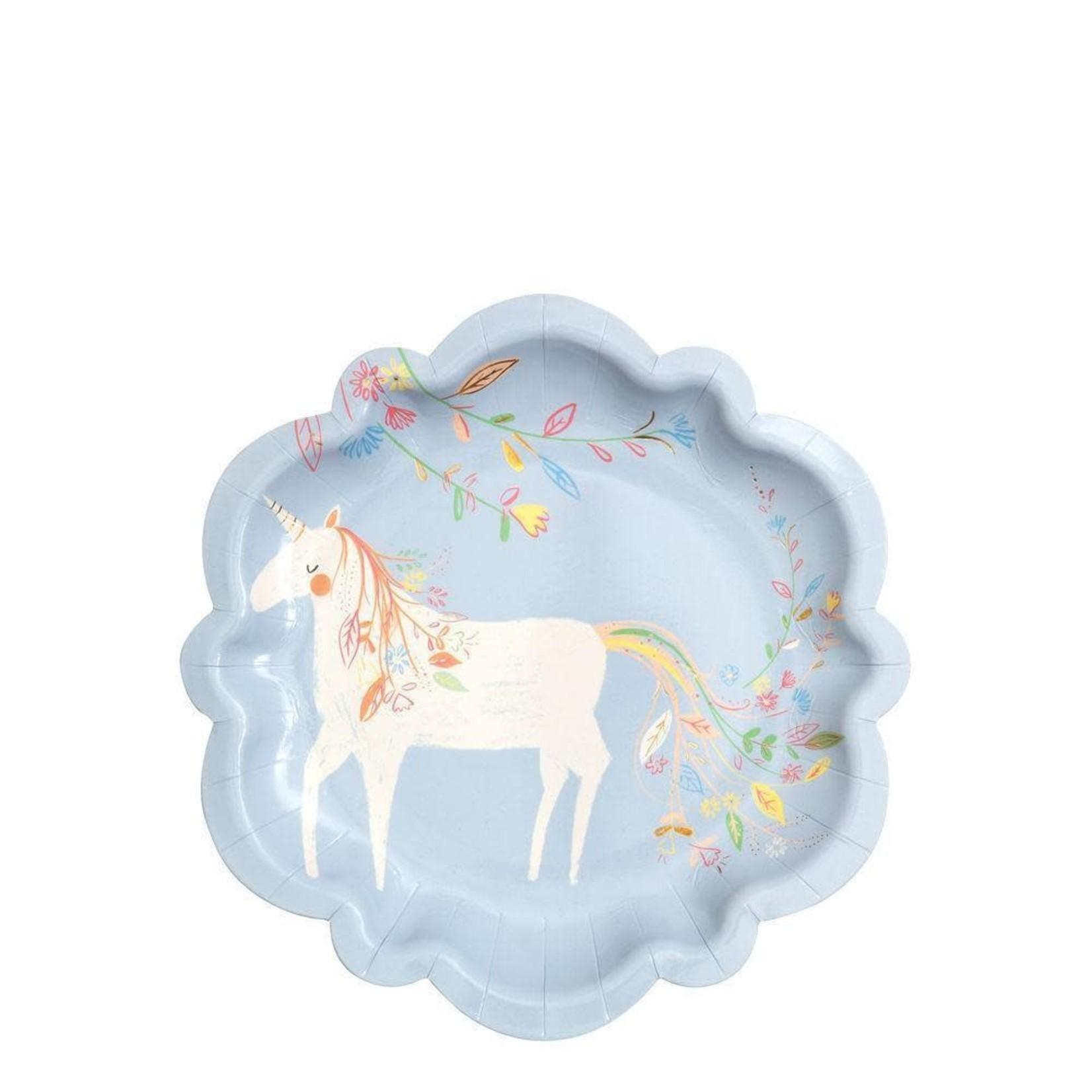 Meri meri Meri meri - Assiettes licorne