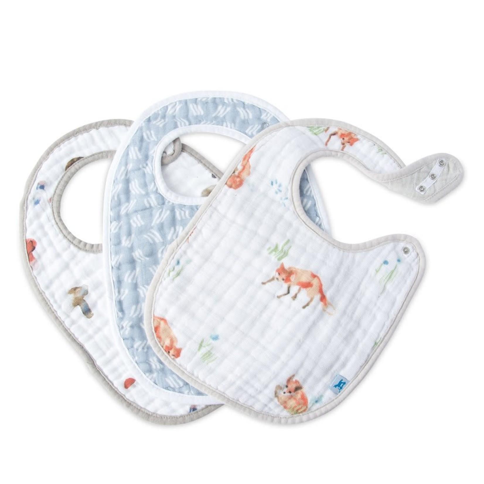 Little unicorn Bavoirs - renard
