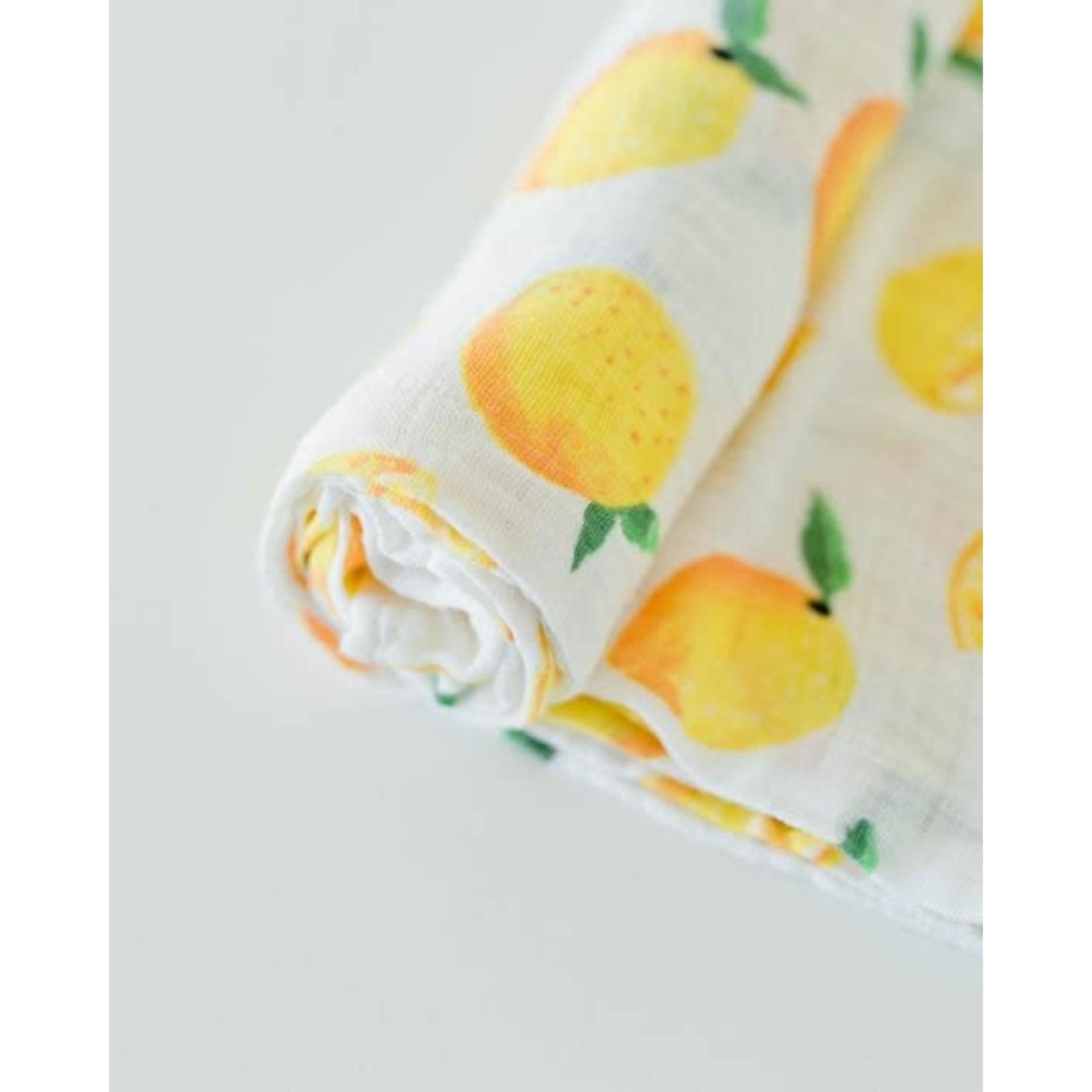 Little unicorn Mousseline - citron