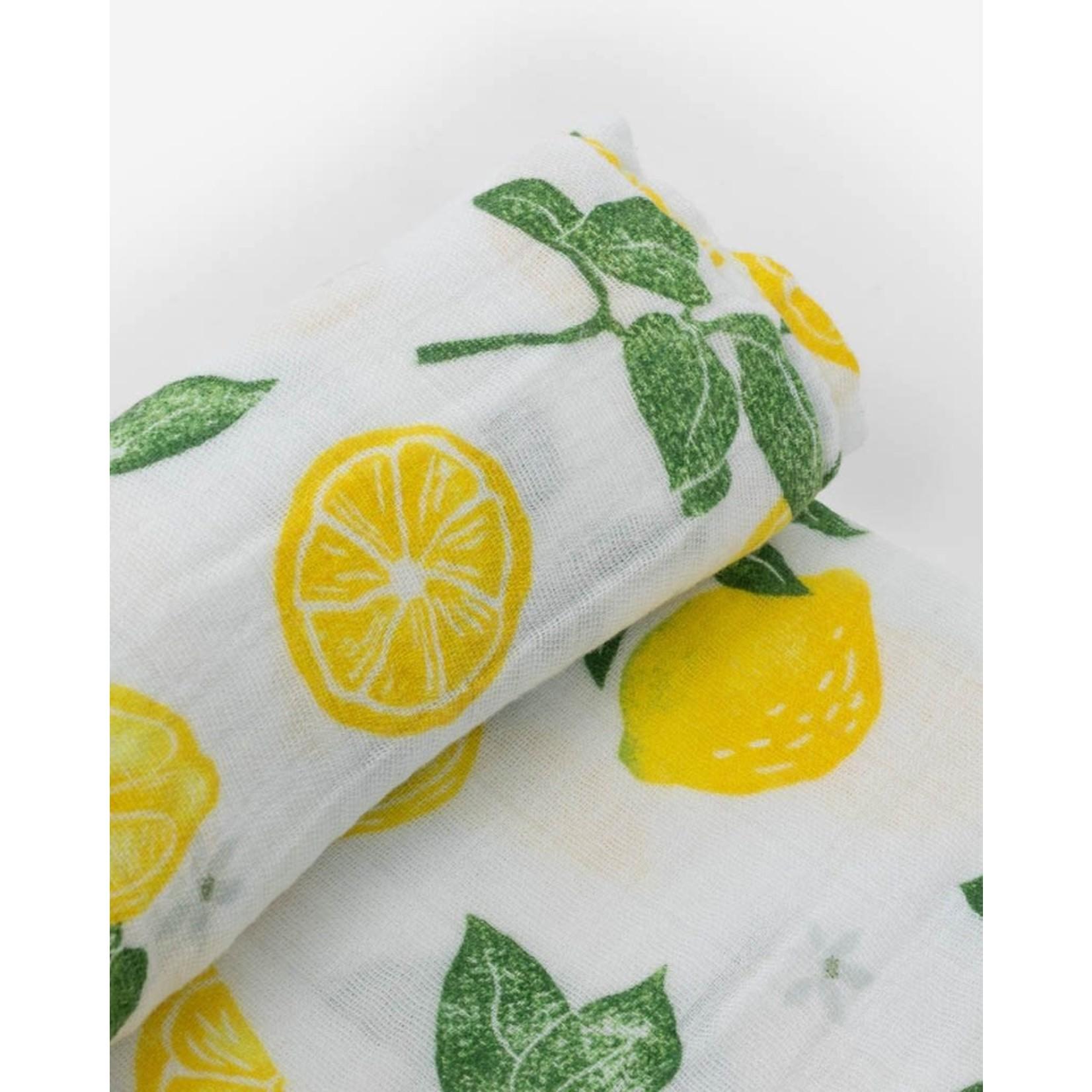 Little unicorn Mousseline - lemon drop
