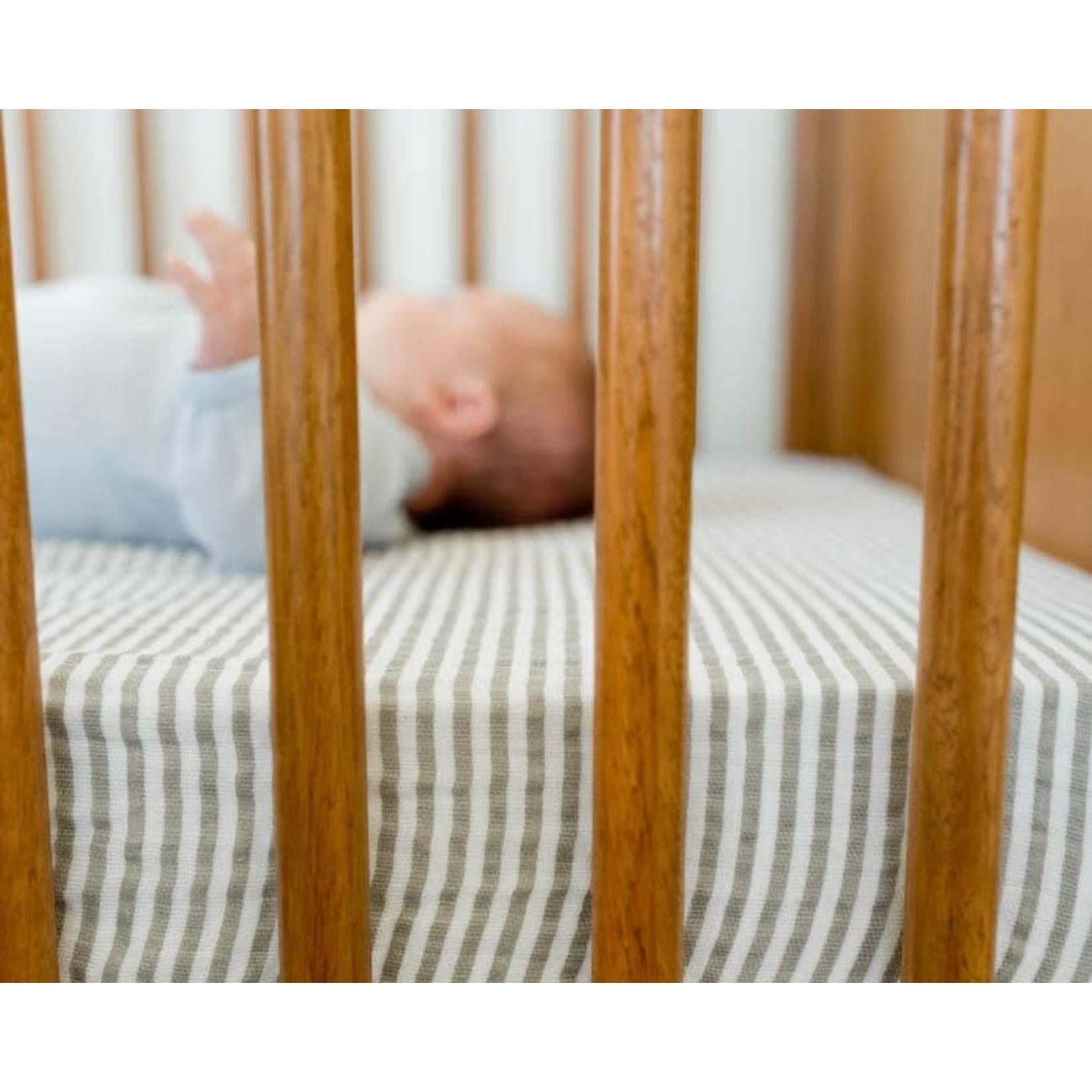 Little unicorn Drap pour lit de bébé - gris