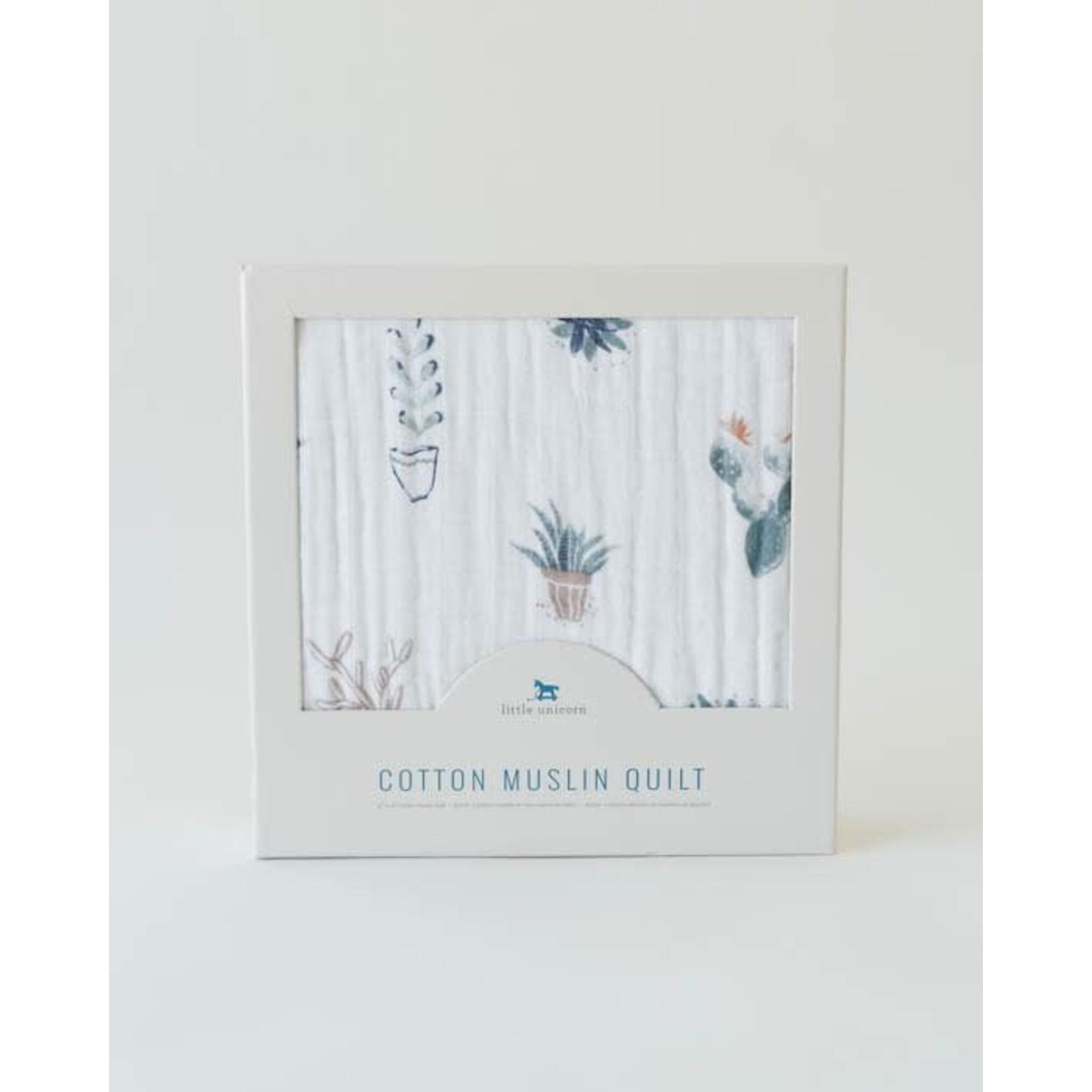 Little unicorn Courtepointe - cactus I