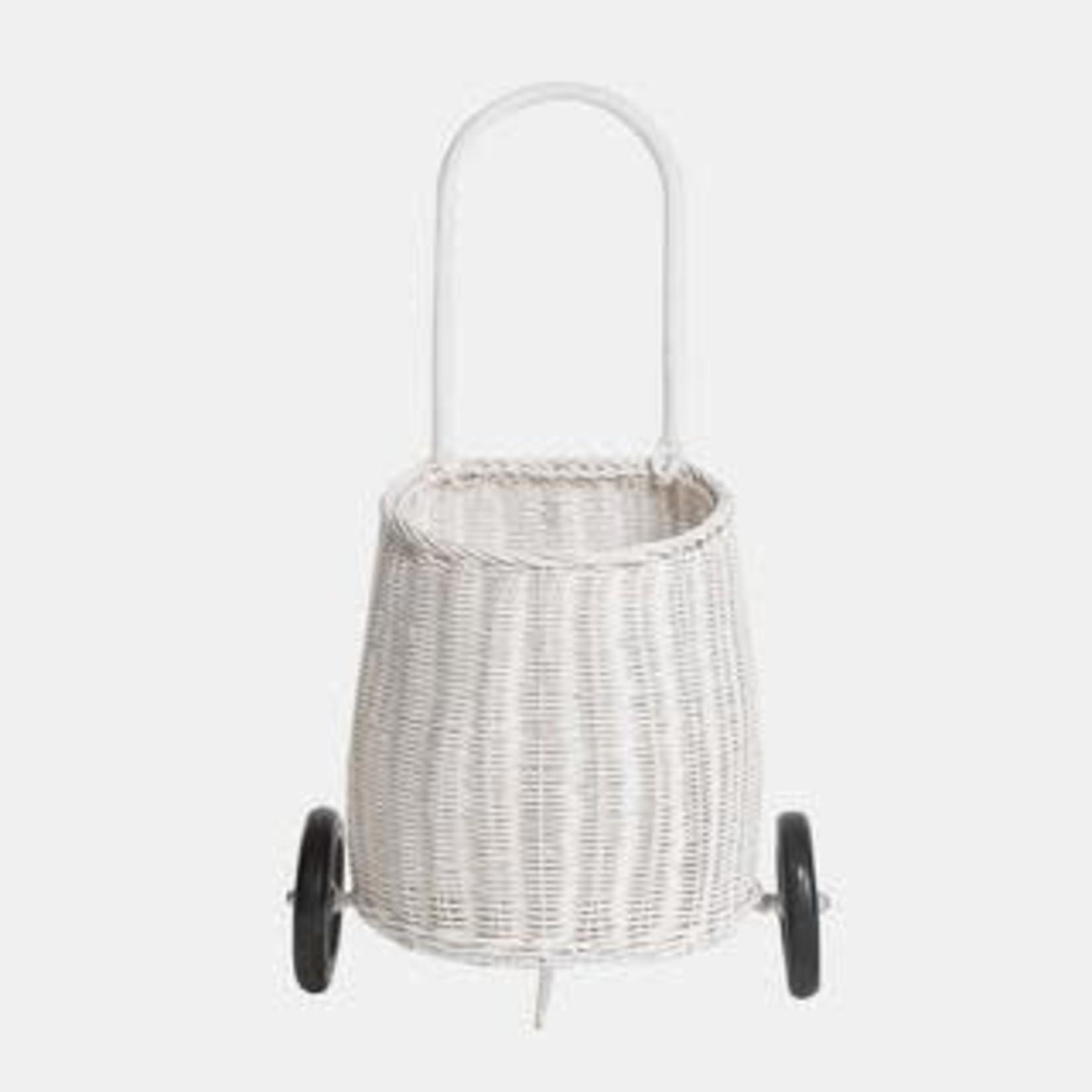 Olli Ella Panier chariot - blanc