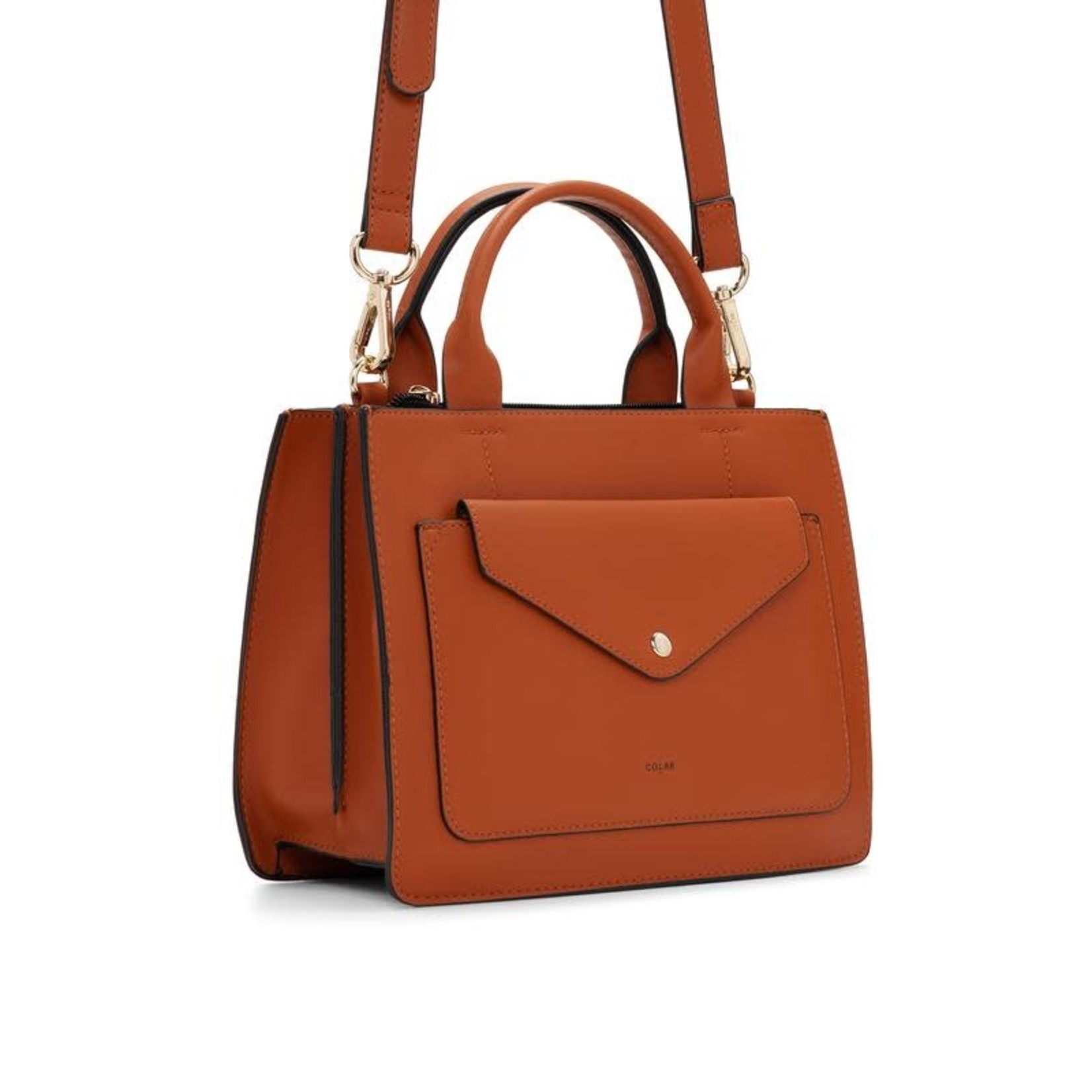 Co-lab Co-Lab MINI TOTE - cognac