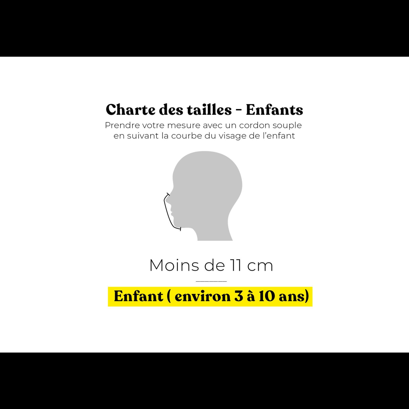 Augustin & co Masque Fla Fla / renard JUNIOR