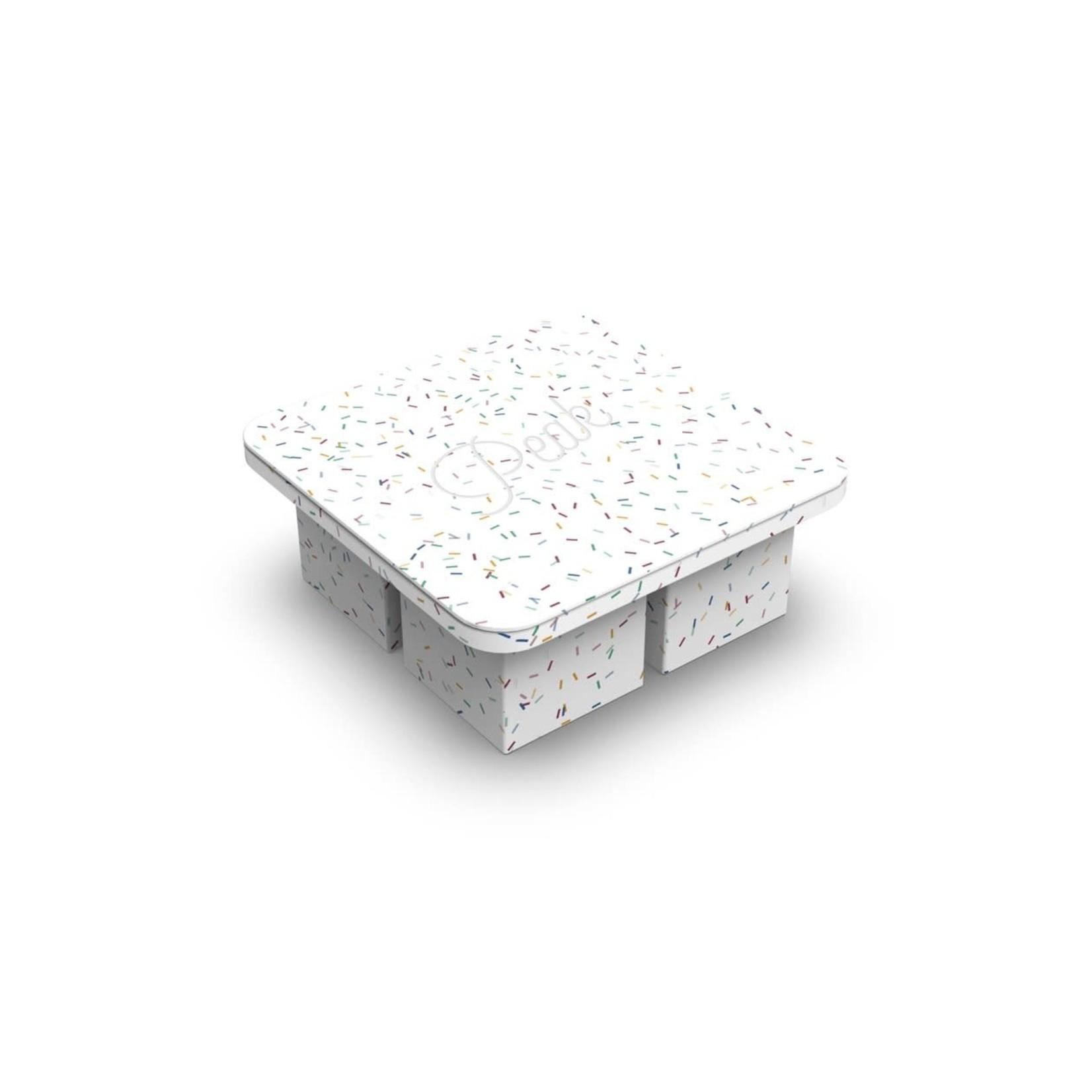 Porter Plateau à glaçons XL PORTER - confettis