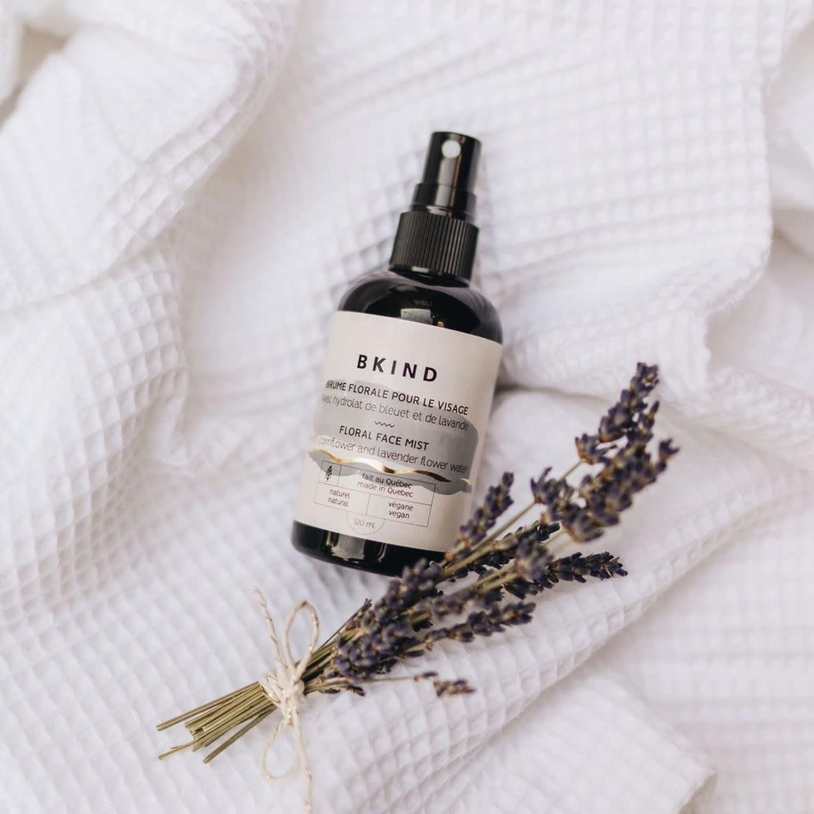 BKIND BKIND brume pour le visage - Eau de lavande & bleuet