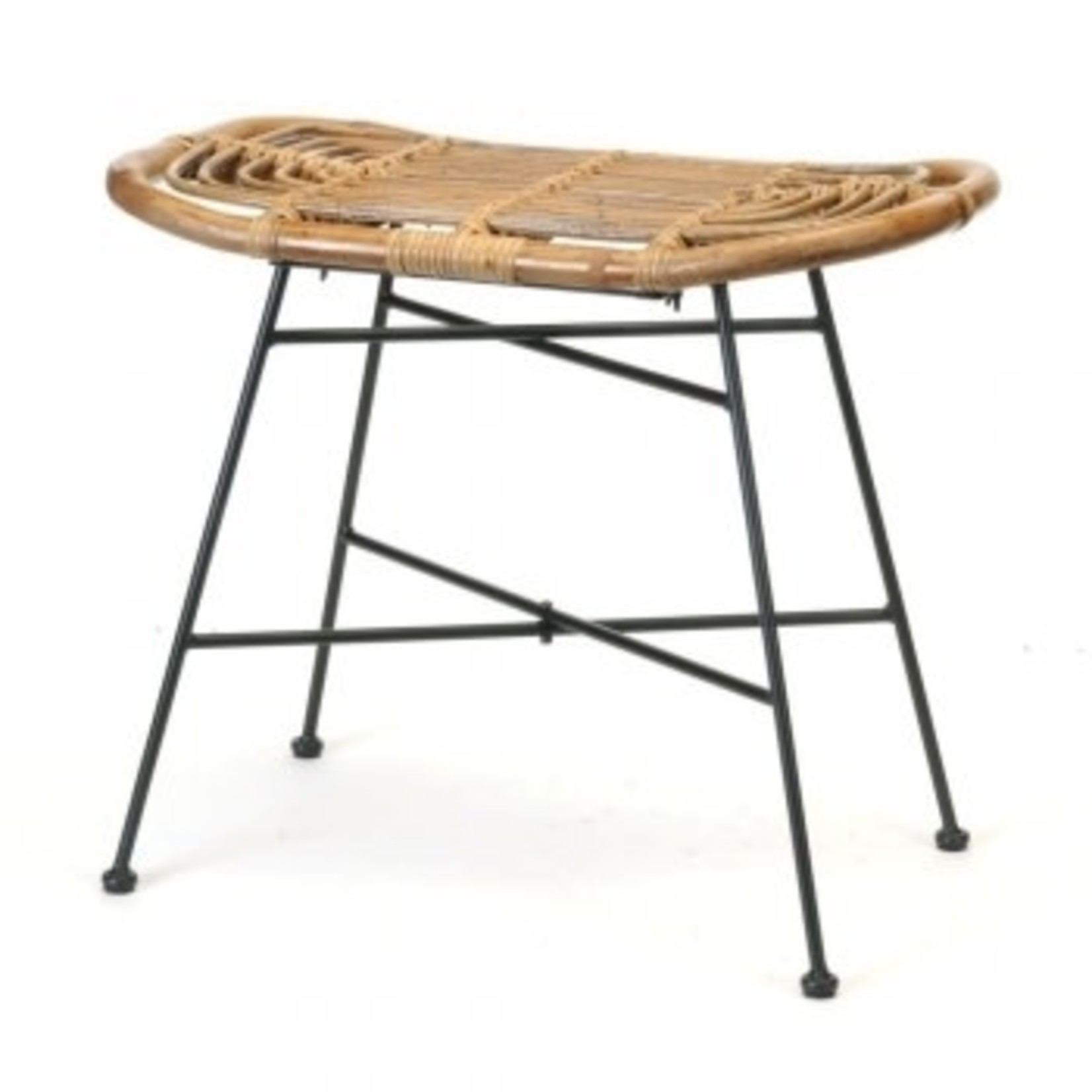 Bacon Basketware Limited Table de bout ROTIN