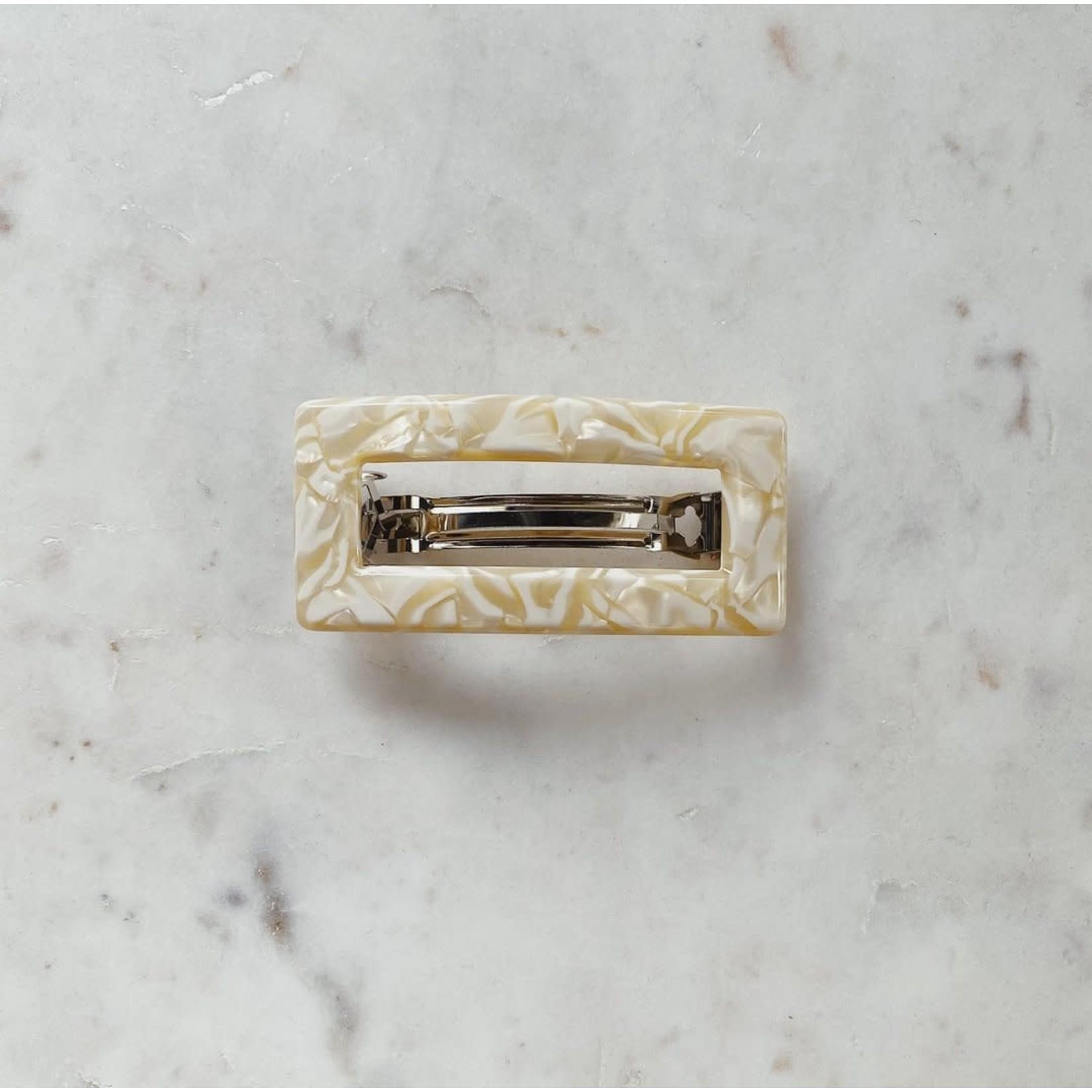Horace Jewelry Barrette TROMBA crème