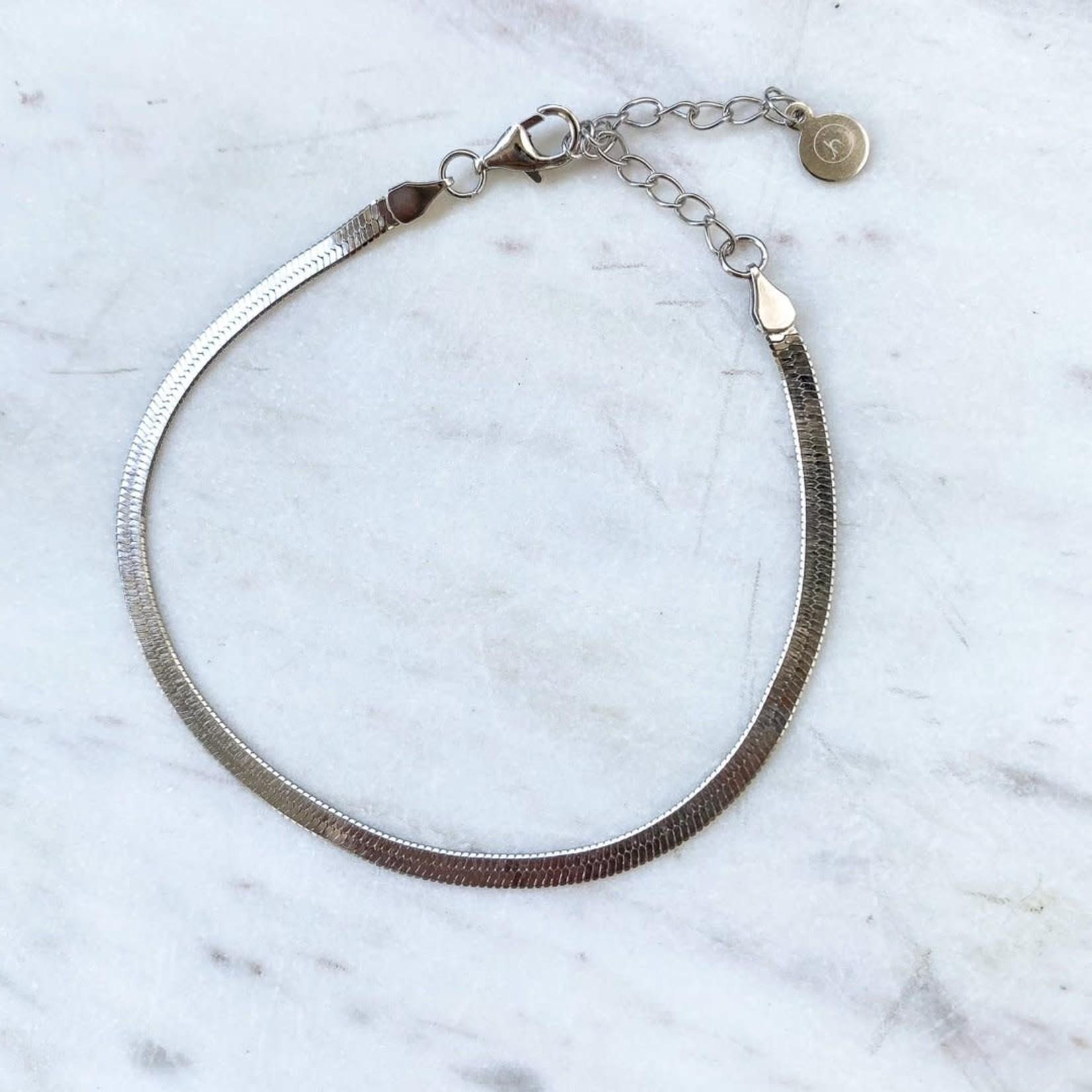 Horace Jewelry Horace bracelet SNAKE argent