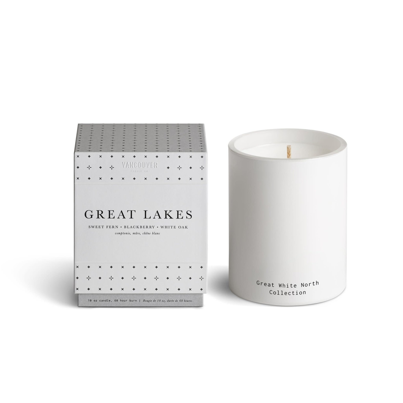 Vancouver Candle VANCOUVER - bougie GREAT LAKES