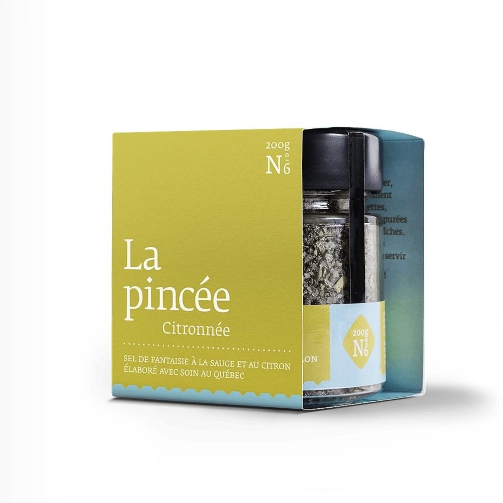 La pincée LA PINCÉE citronnée no6 (200g)