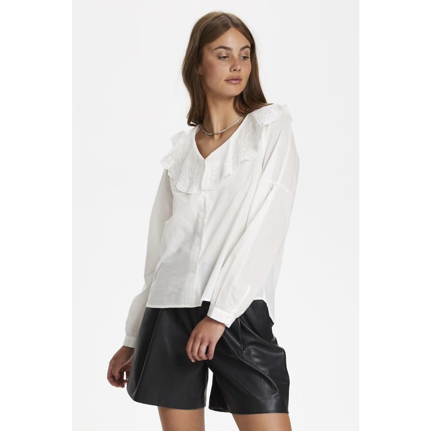 Soaked in Luxury Blouse KENOBI blanc