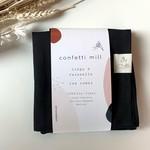 Confetti Mill Linge à vaisselle - noir