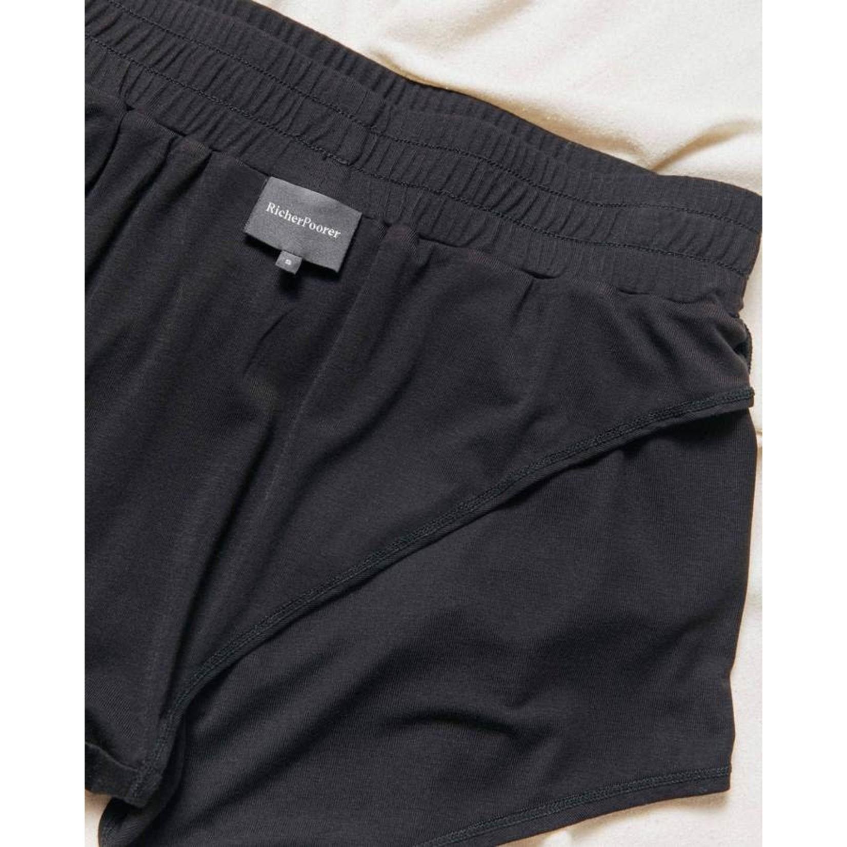 Richer Poorer Pyjama SHORT - noir