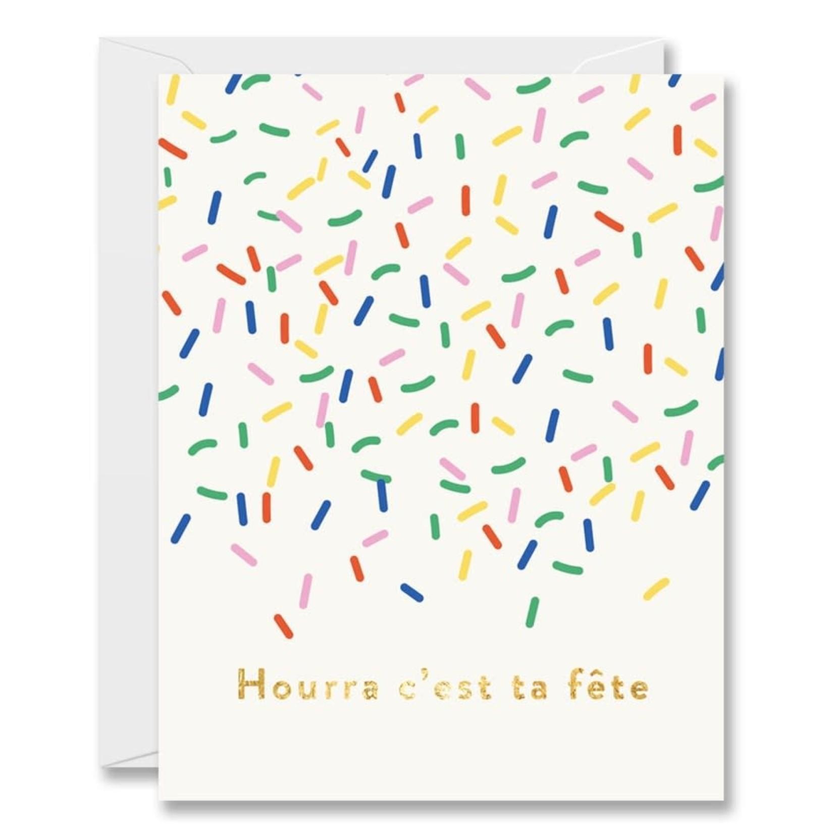 Halfpenny Carte confettis