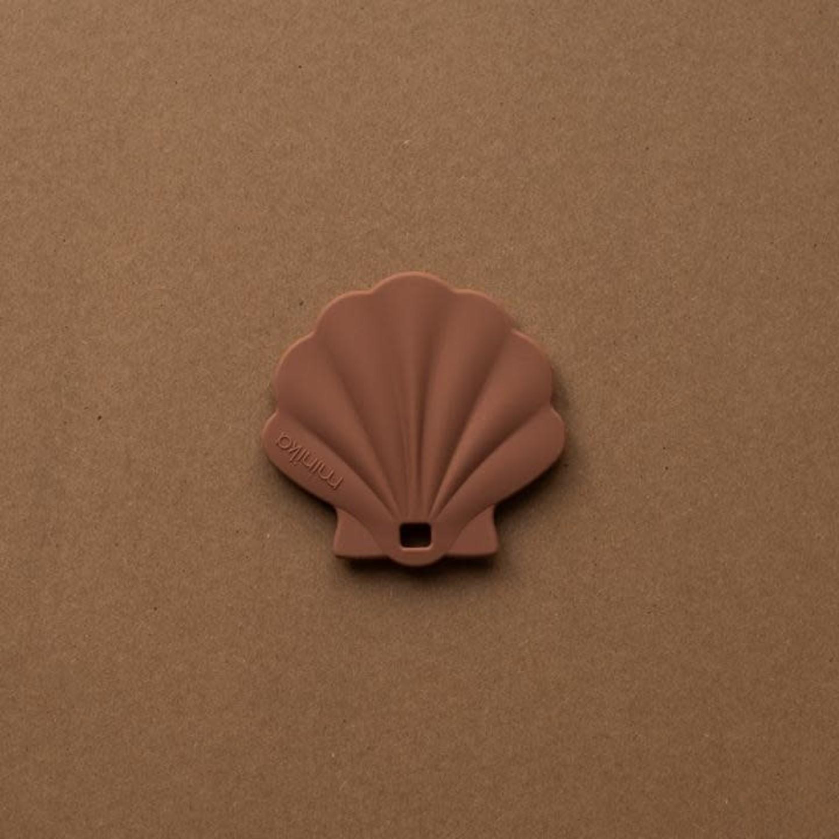 Minika Minika Coquillage de dentition cacao