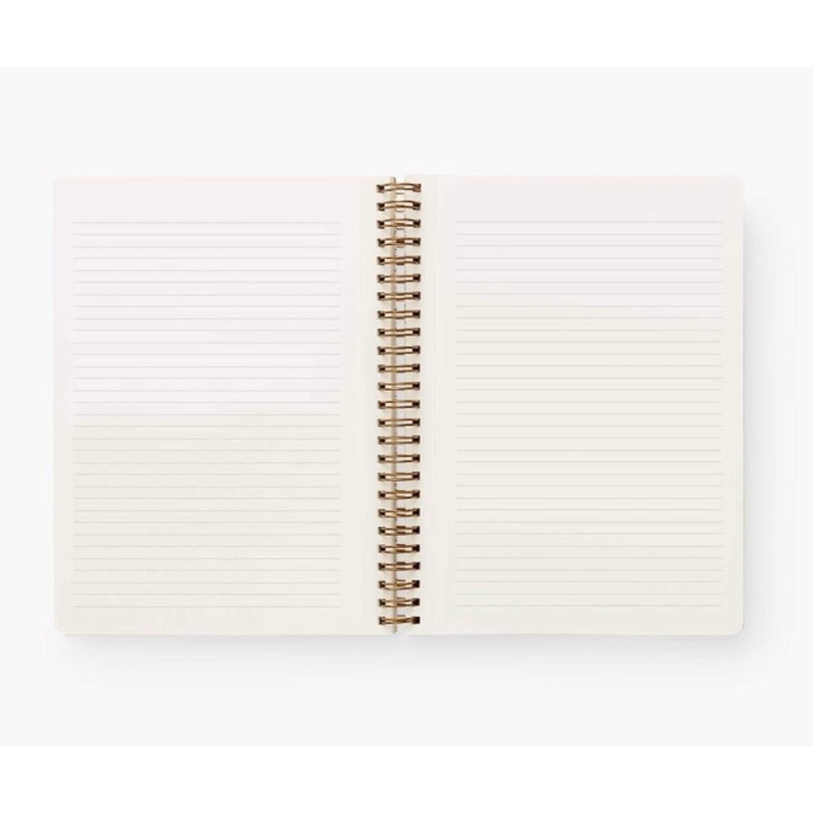 Rifle Paper Co. Cahier à spirale - Colette