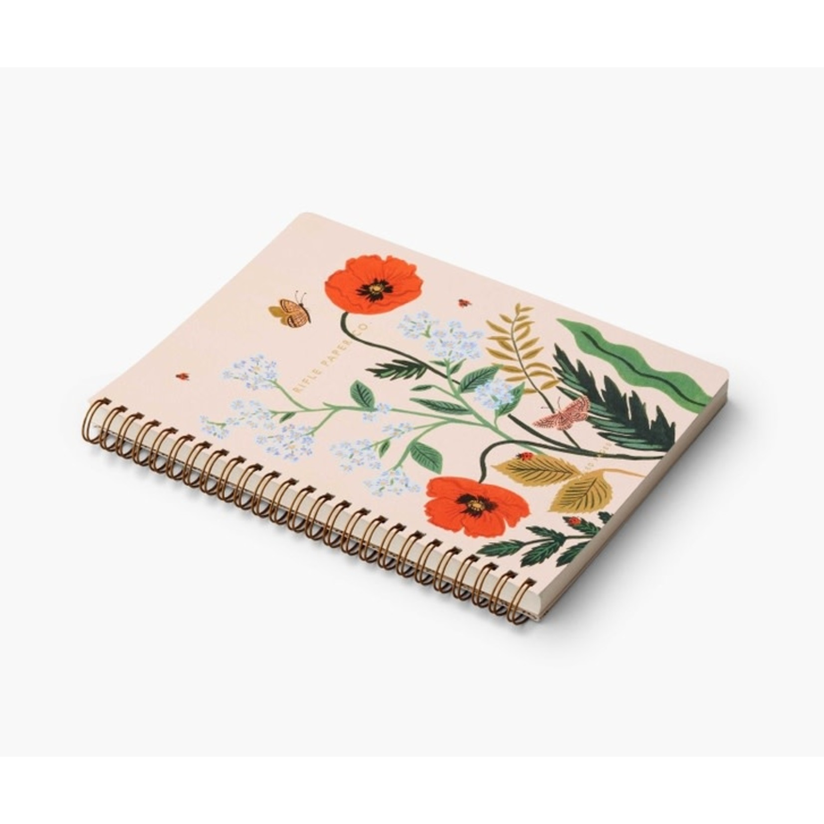 Rifle Paper Co. Cahier à spirale - Iceland poppy