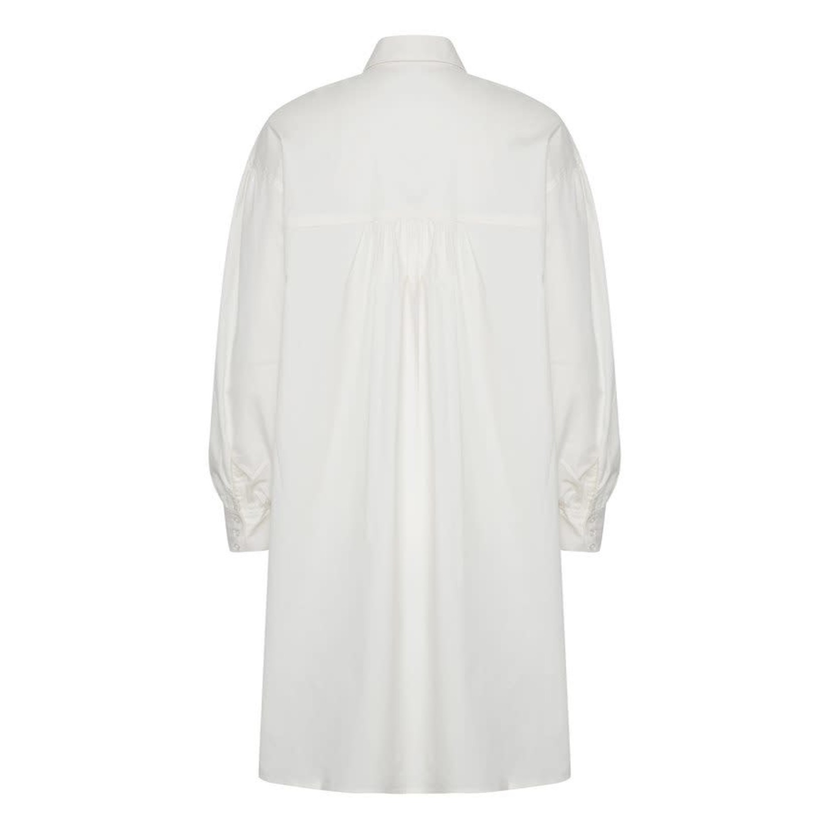 Soaked in Luxury Chemise TUNIC blanche