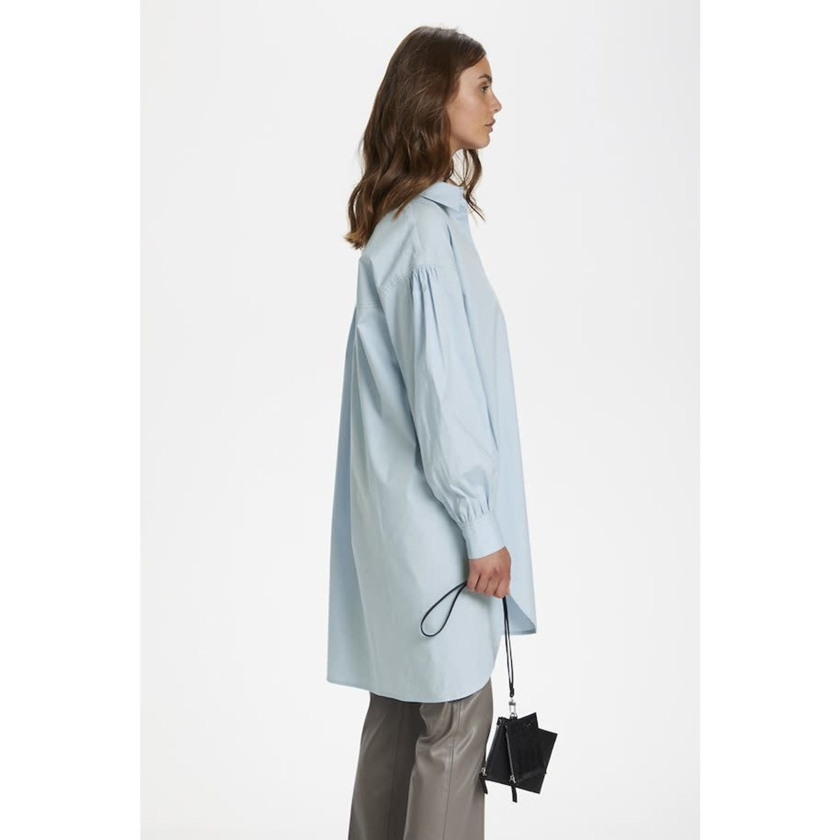 Soaked in Luxury Chemise TUNIC bleue