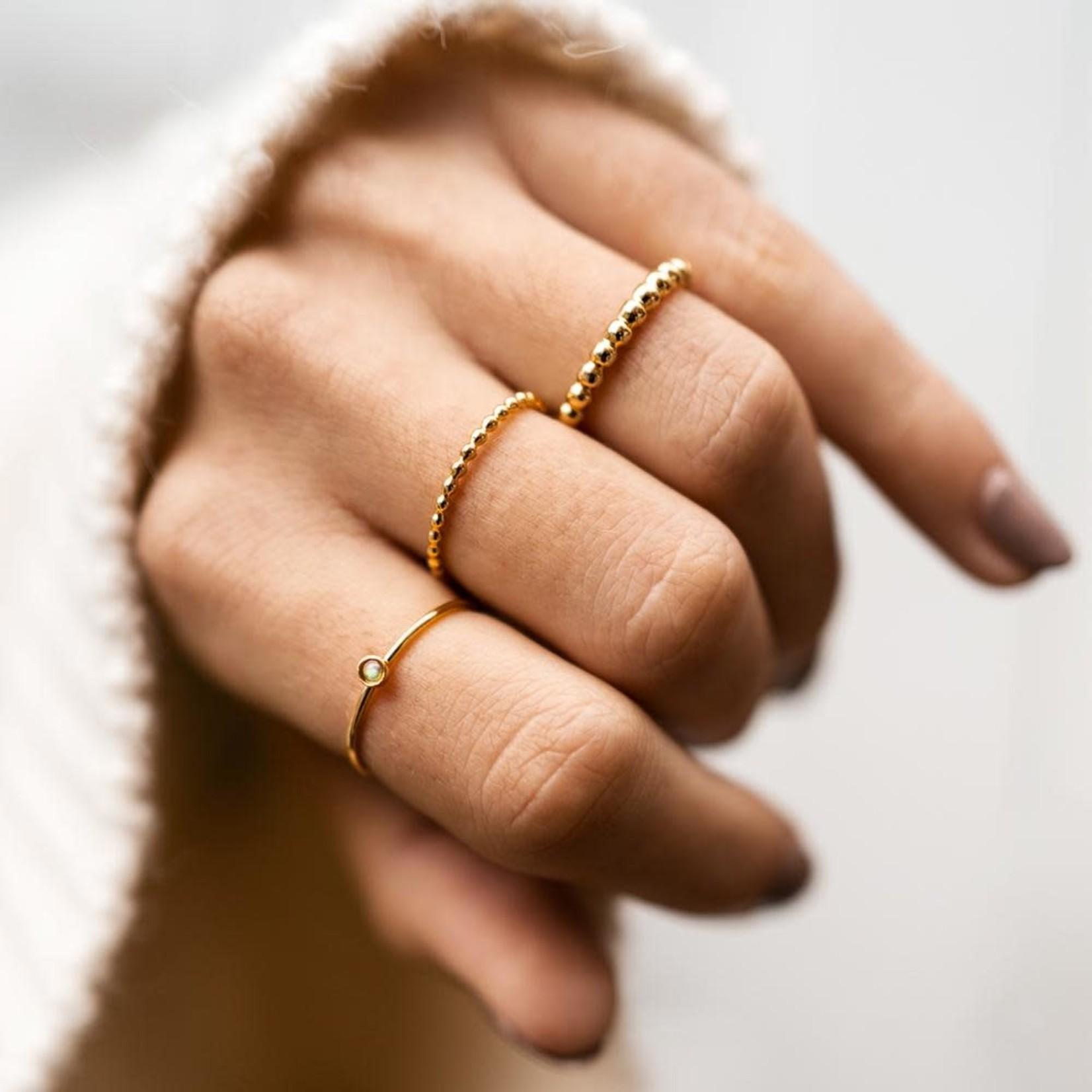 Welldunn jewelry Welldunn bague PERLOCK or