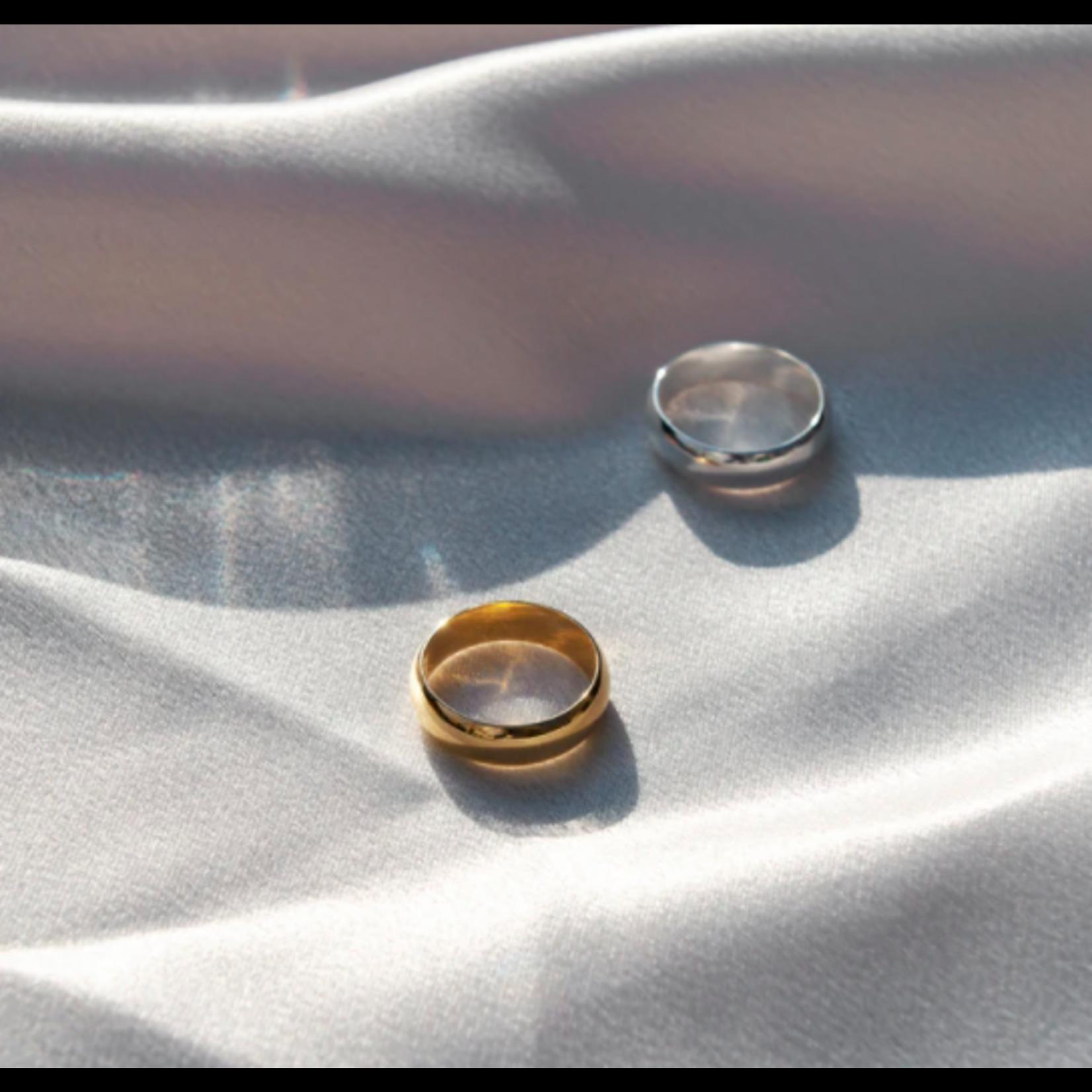 Welldunn jewelry Welldunn bague JORDAN argent