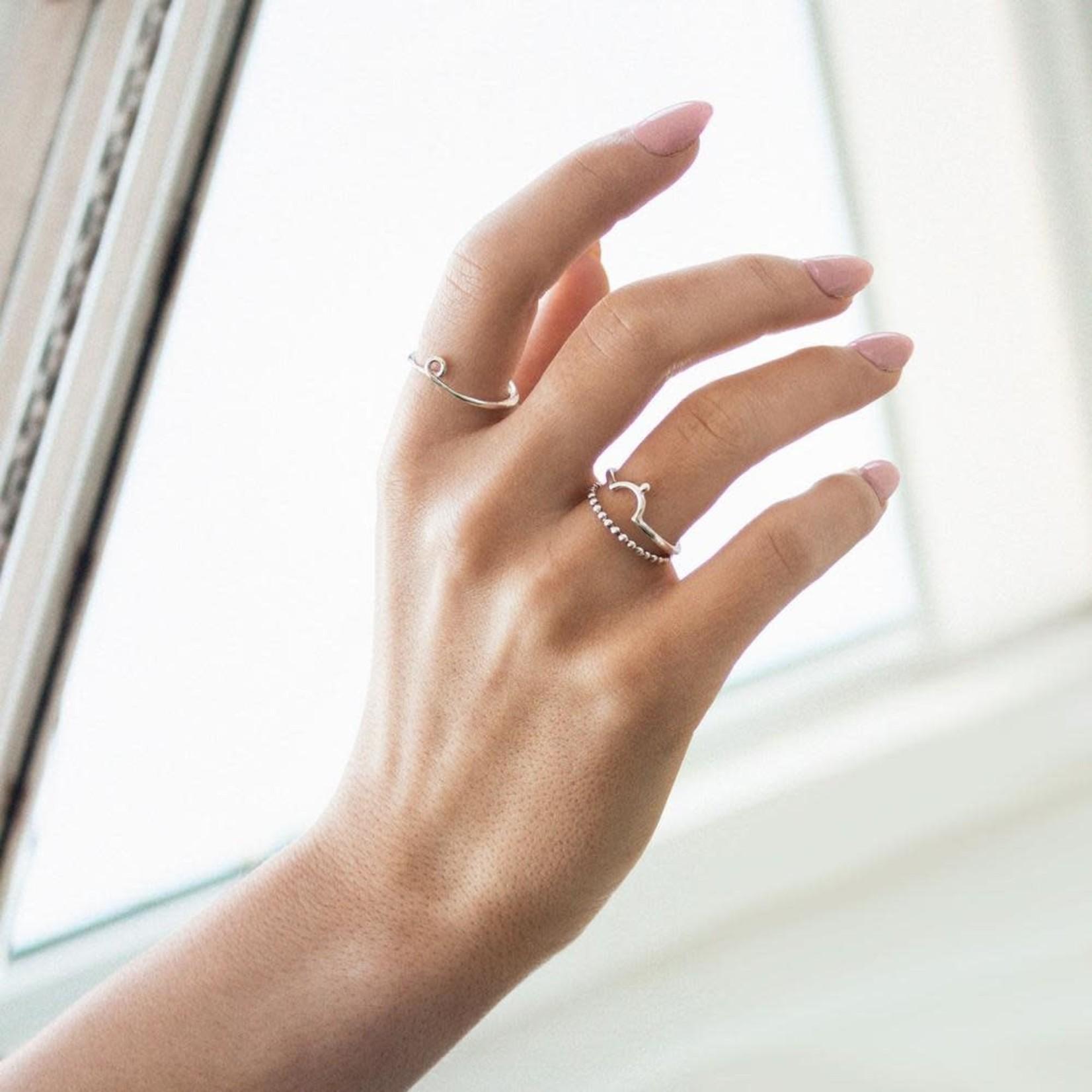 Welldunn jewelry Welldunn bague OMEGA argent
