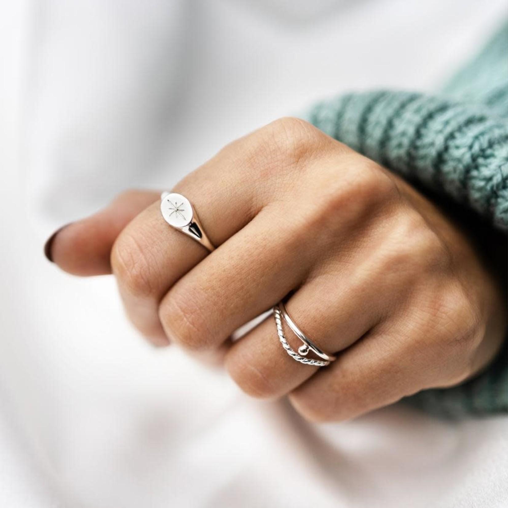 Welldunn jewelry Welldunn bague BABKA argent