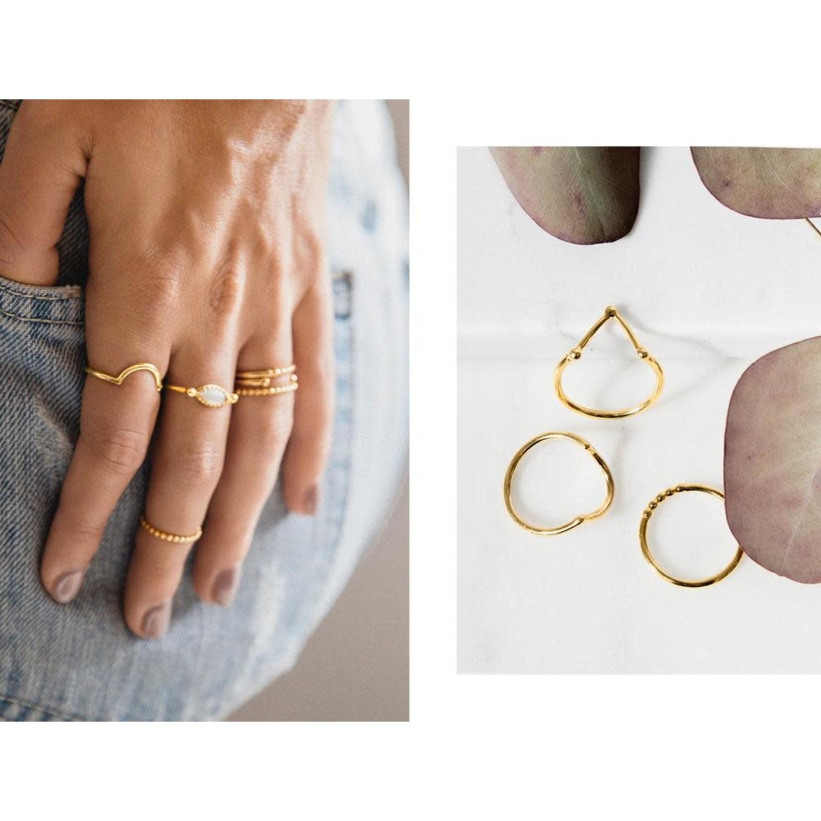 Welldunn jewelry Welldunn bague SIERRA or
