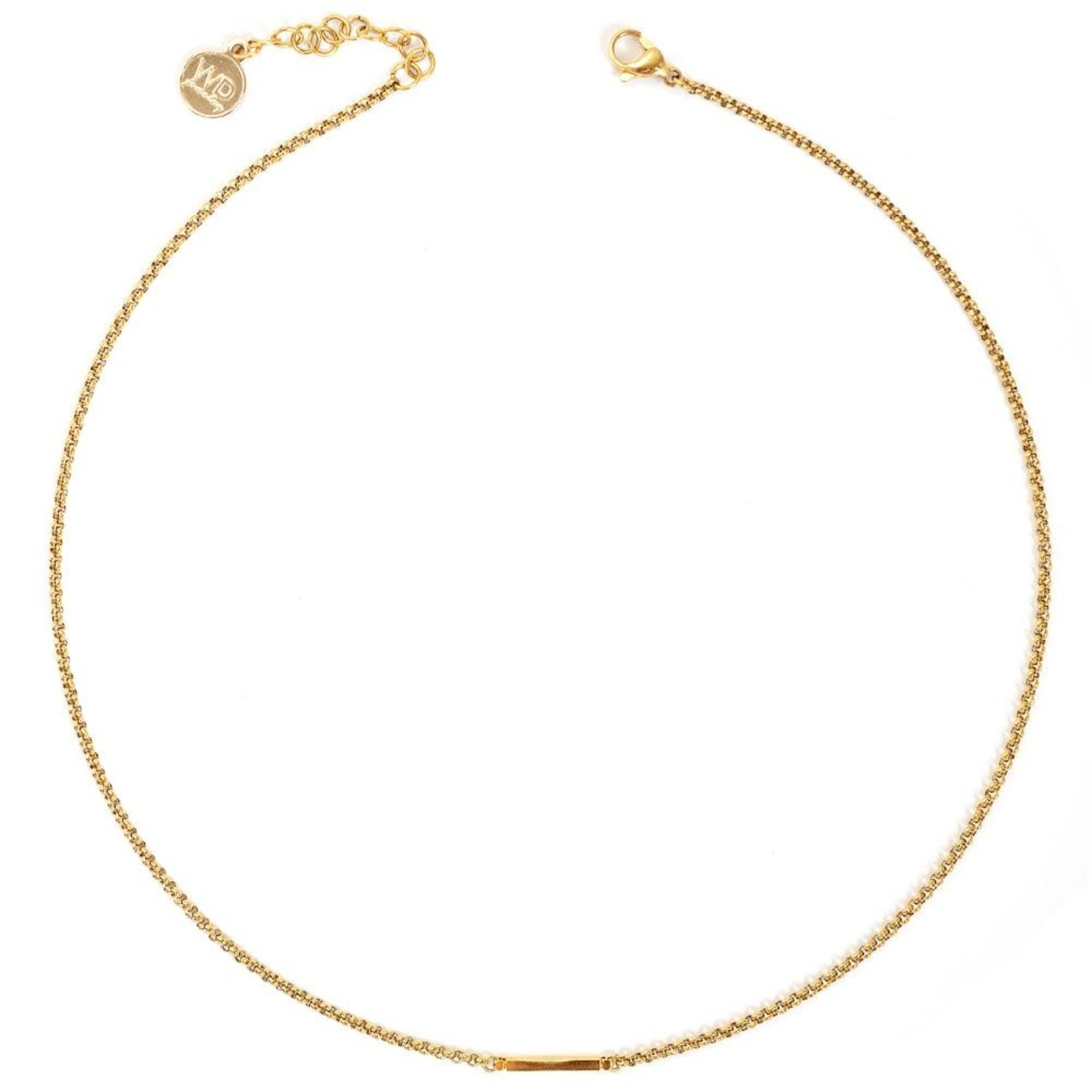 Welldunn jewelry Welldunn collier AXELLE or