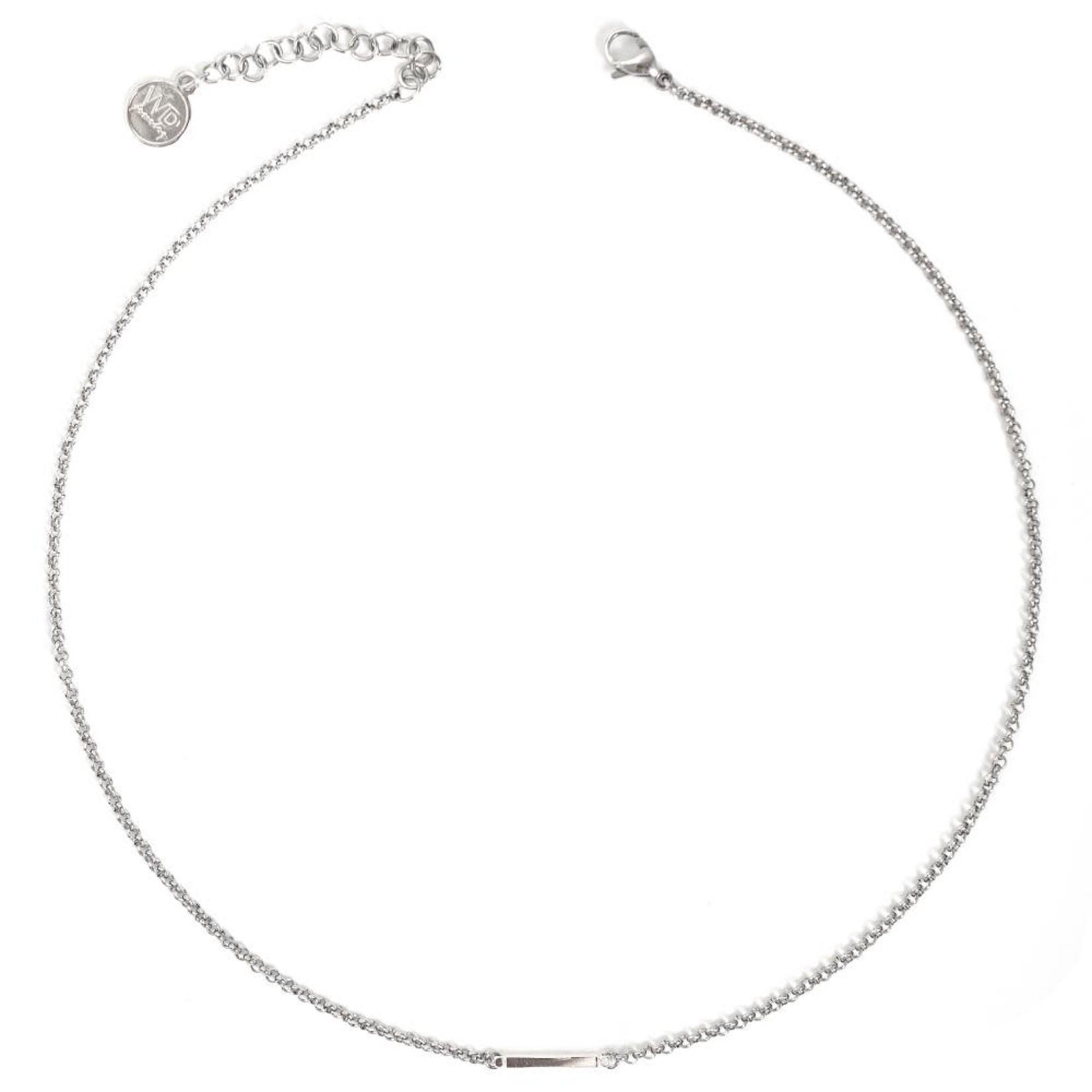 Welldunn jewelry Welldunn collier AXELLE argent