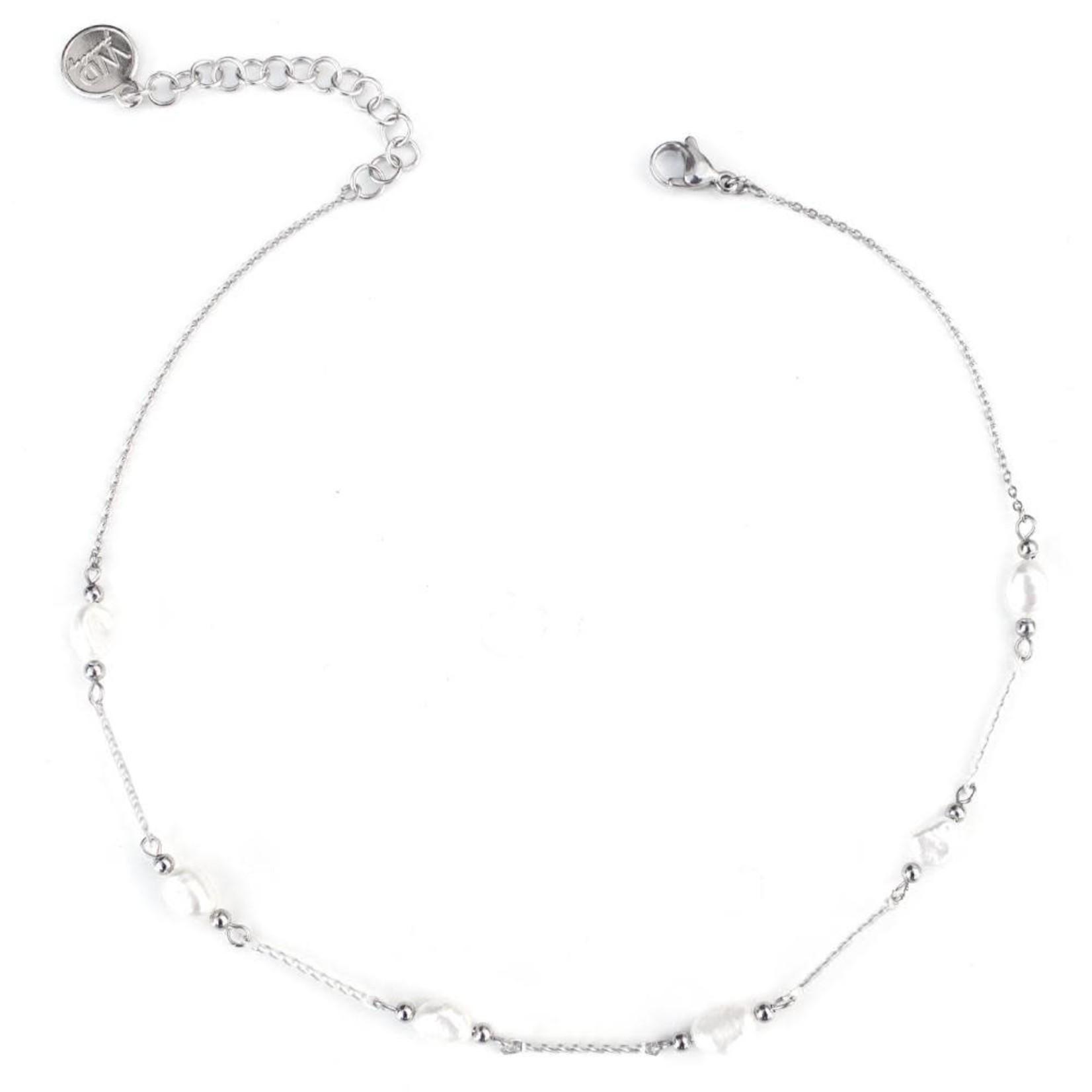 Welldunn jewelry Welldunn collier COCO argent