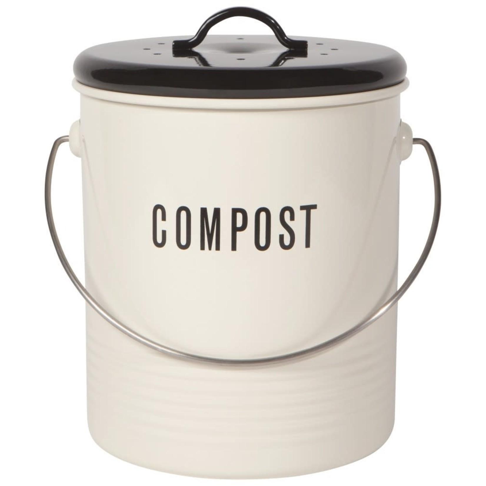 Now Designs Bac à compost - Ivoire