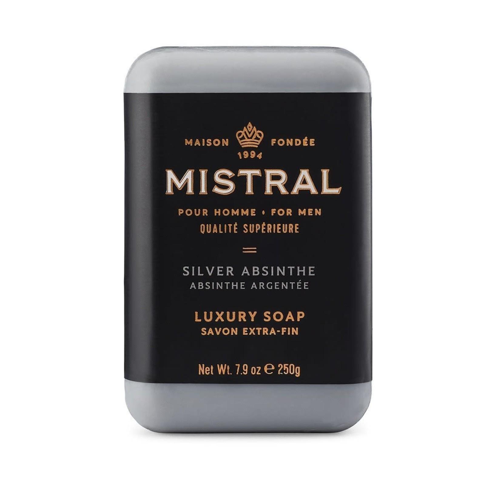 Mistral MISTRAL homme savon absinthe argentée