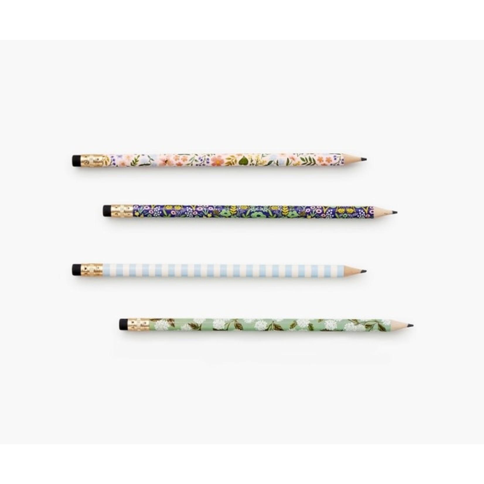 Rifle Paper co. Ensemble de crayons - meadow