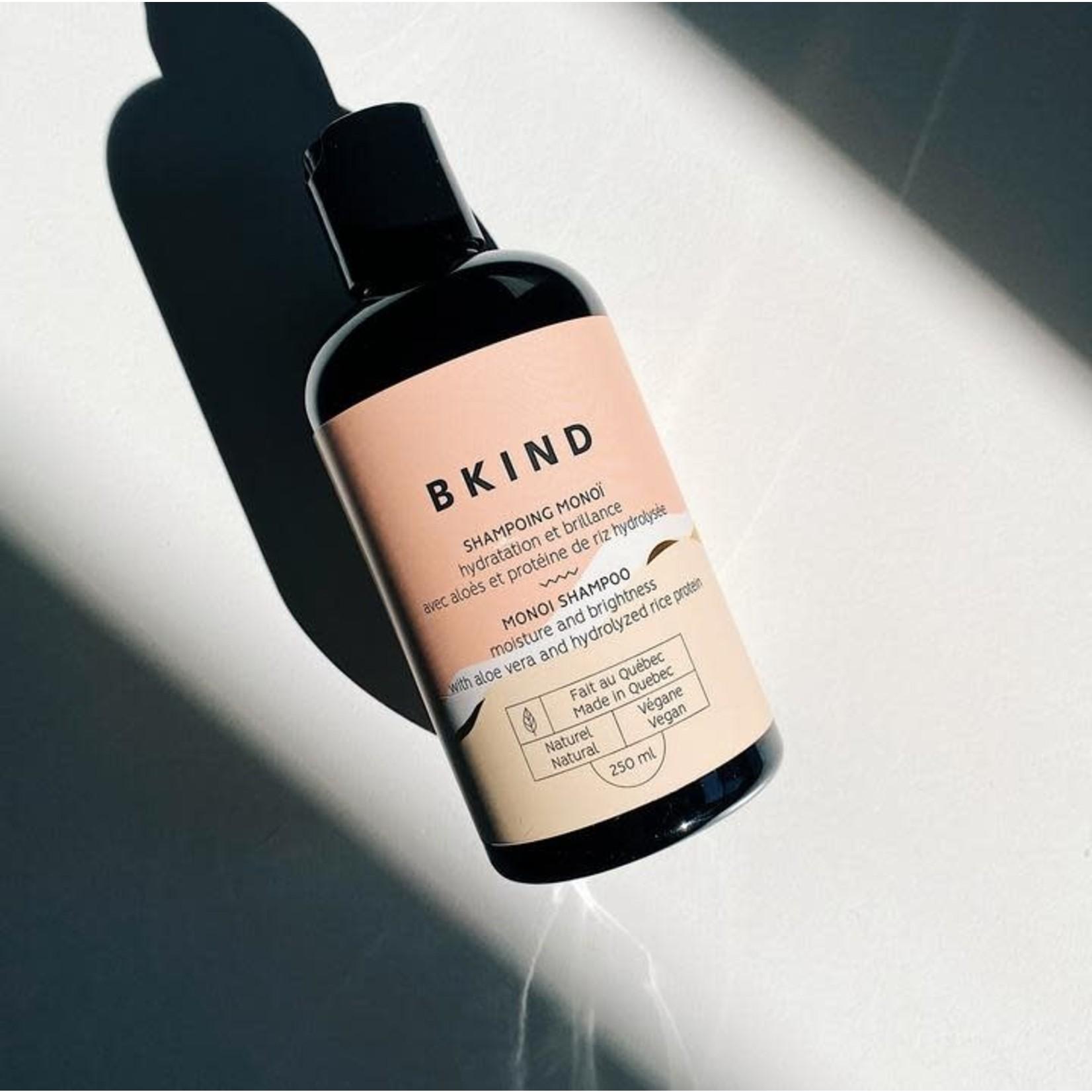 BKIND BKIND - Shampoing Monoï / Hydratation et brillance